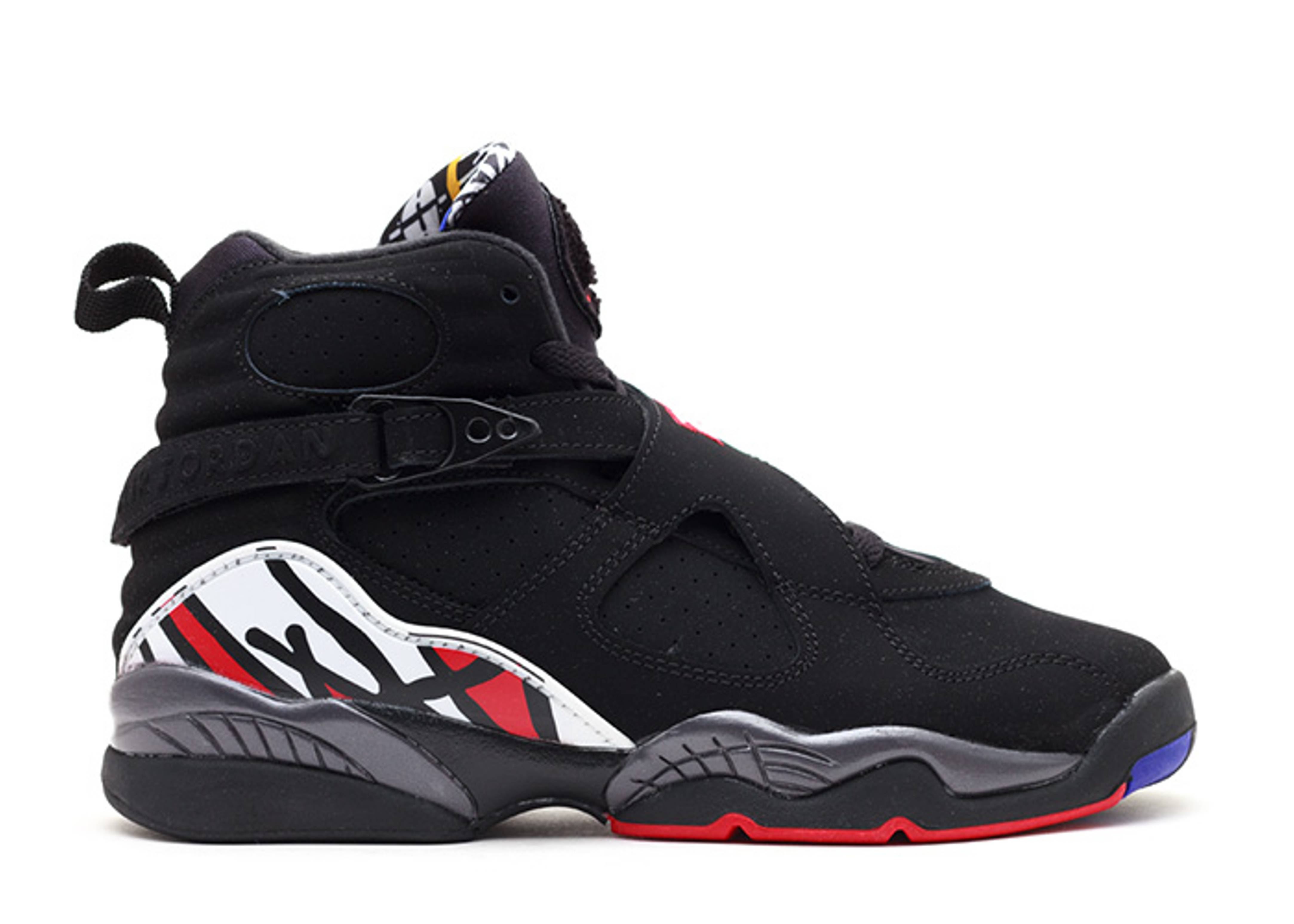 "air jordan 8 retro (gs) ""playoffs 2013 release"""
