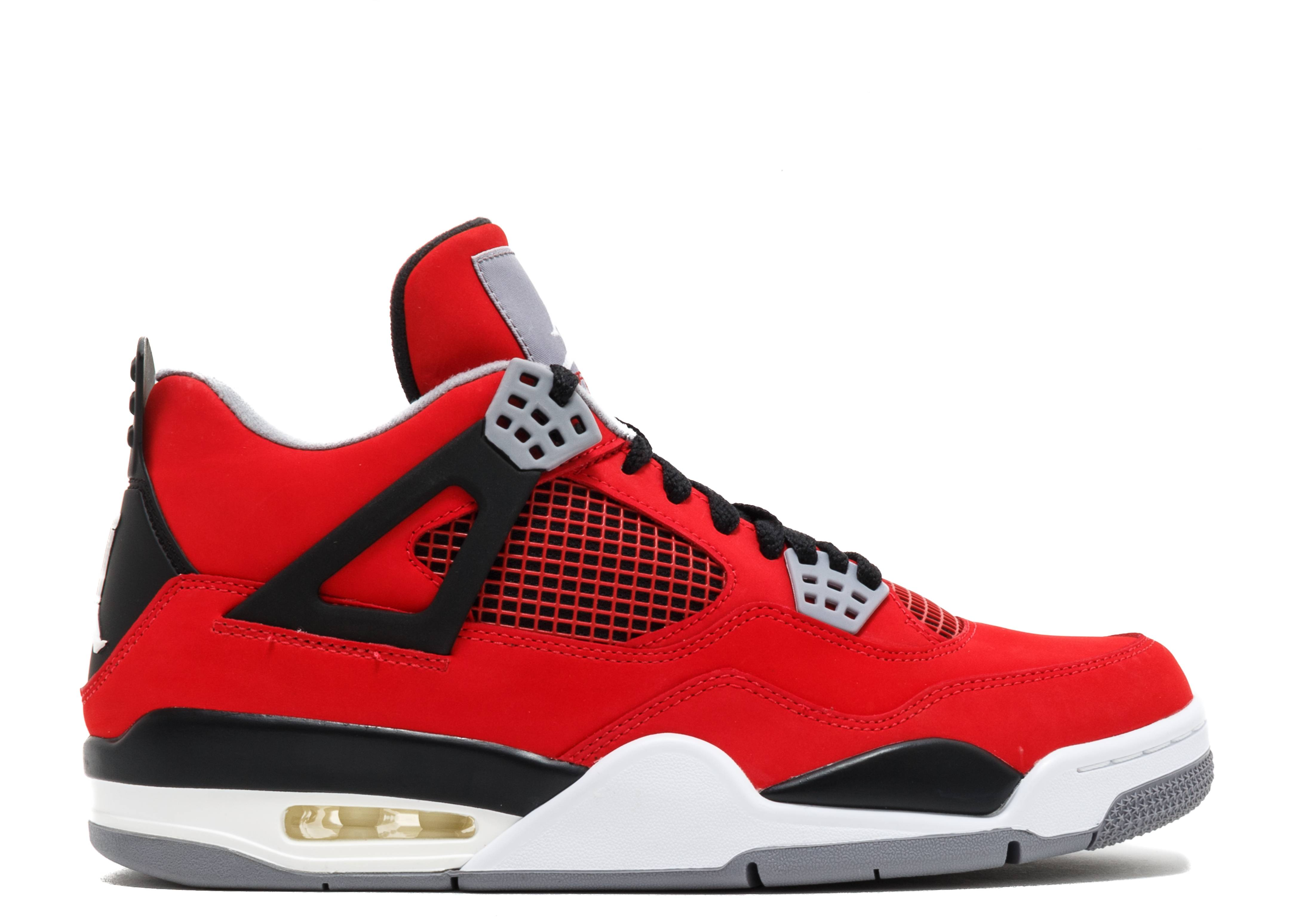 air jordan 4 retro rosse