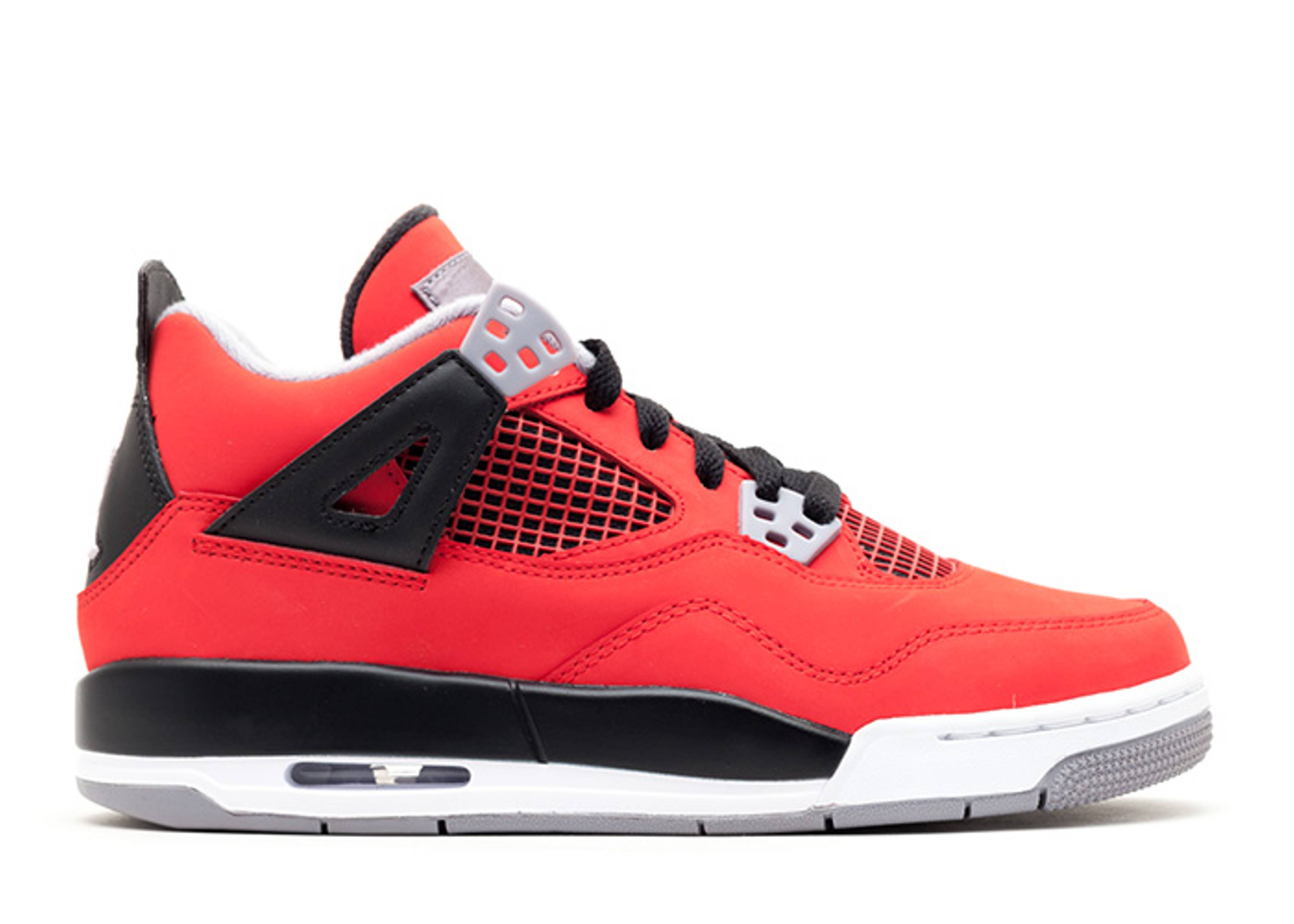 "air jordan 4 retro (gs) ""toro bravo"""
