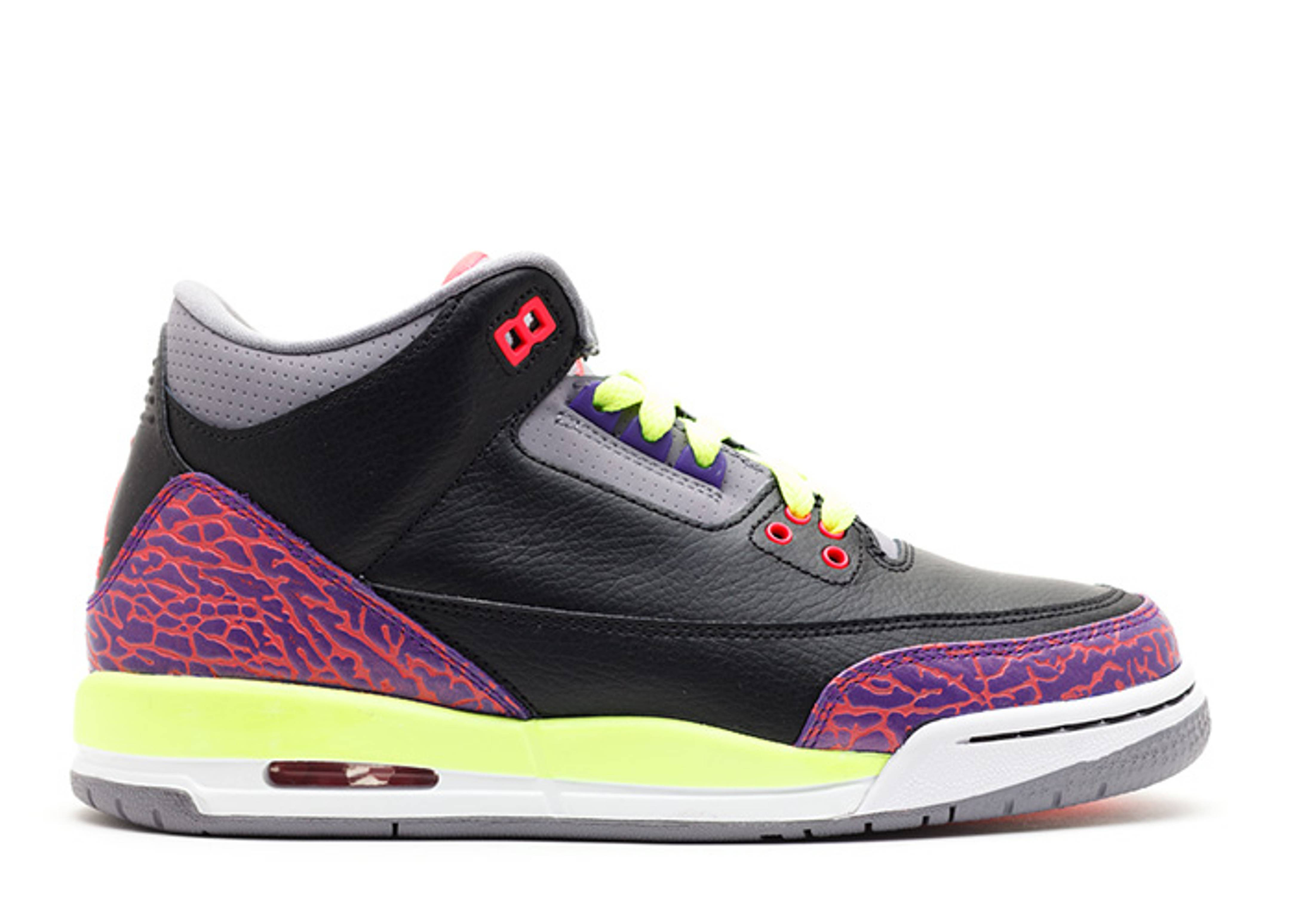 girls air jordan 3 (gs)