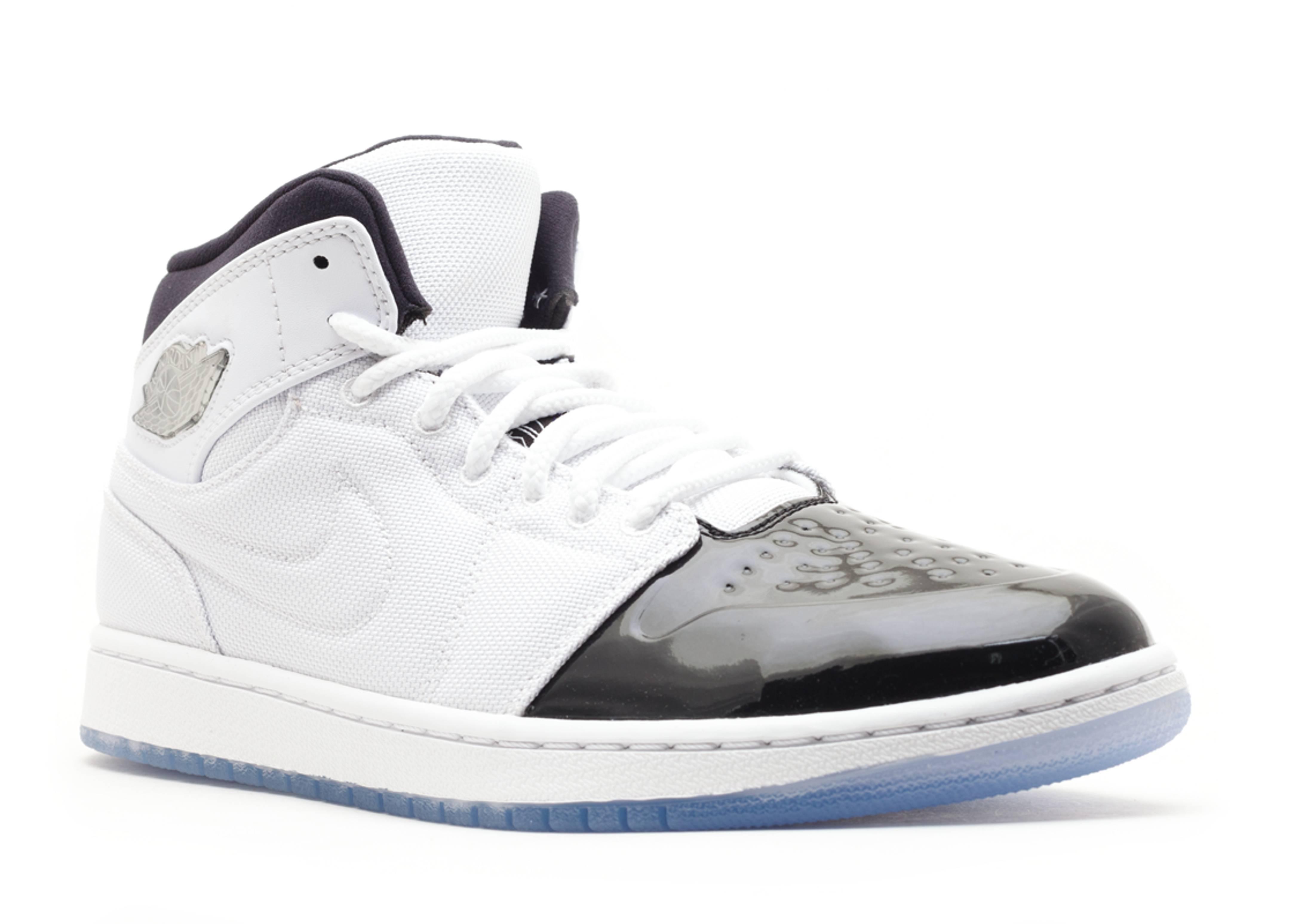"""nike air max hyped basket chaussure de femmes - air jordan 1 retro 95 """"concord"""" - white/black/dark concord ..."""