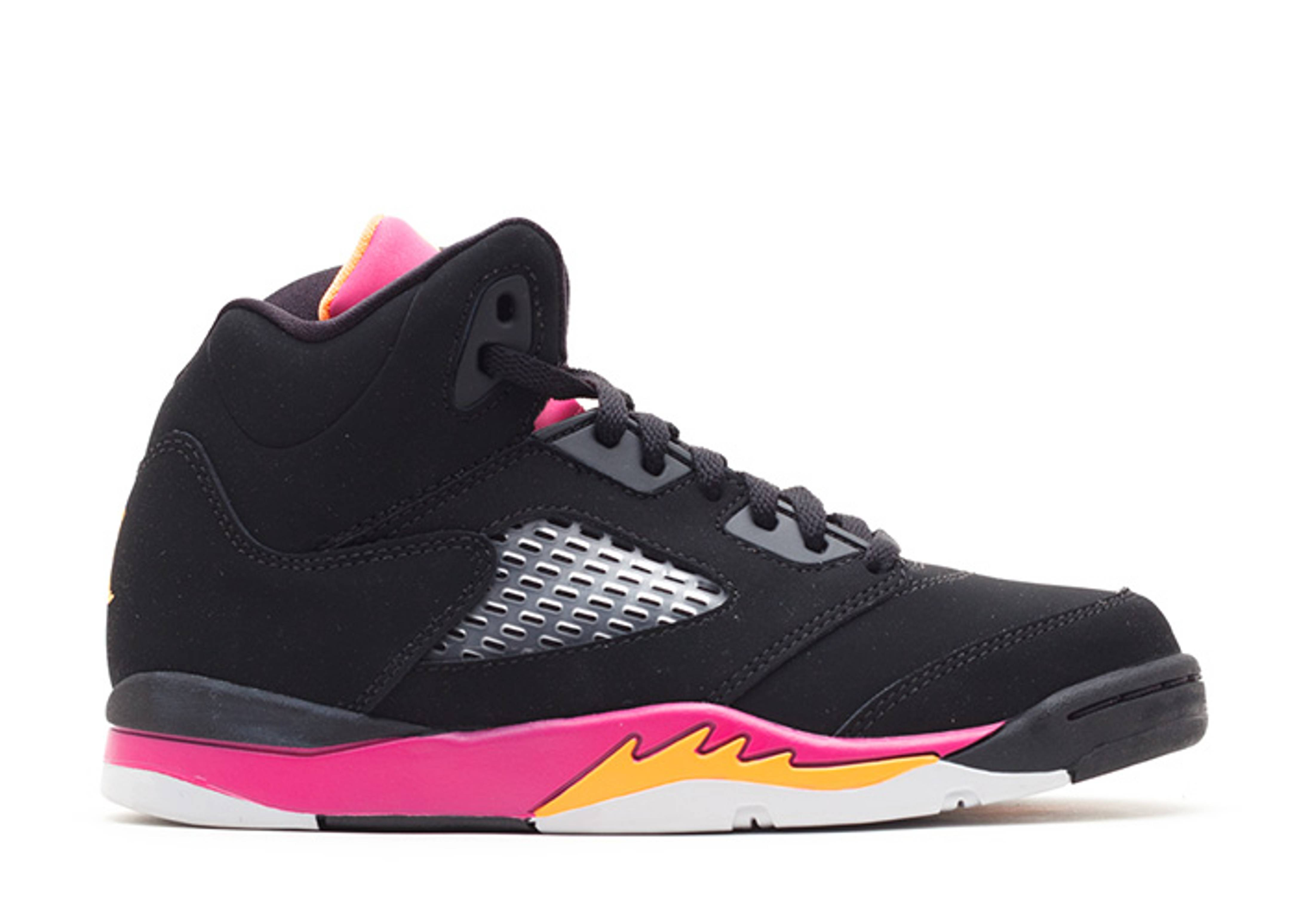 "girls jordan 5 retro (ps) ""floridian"""