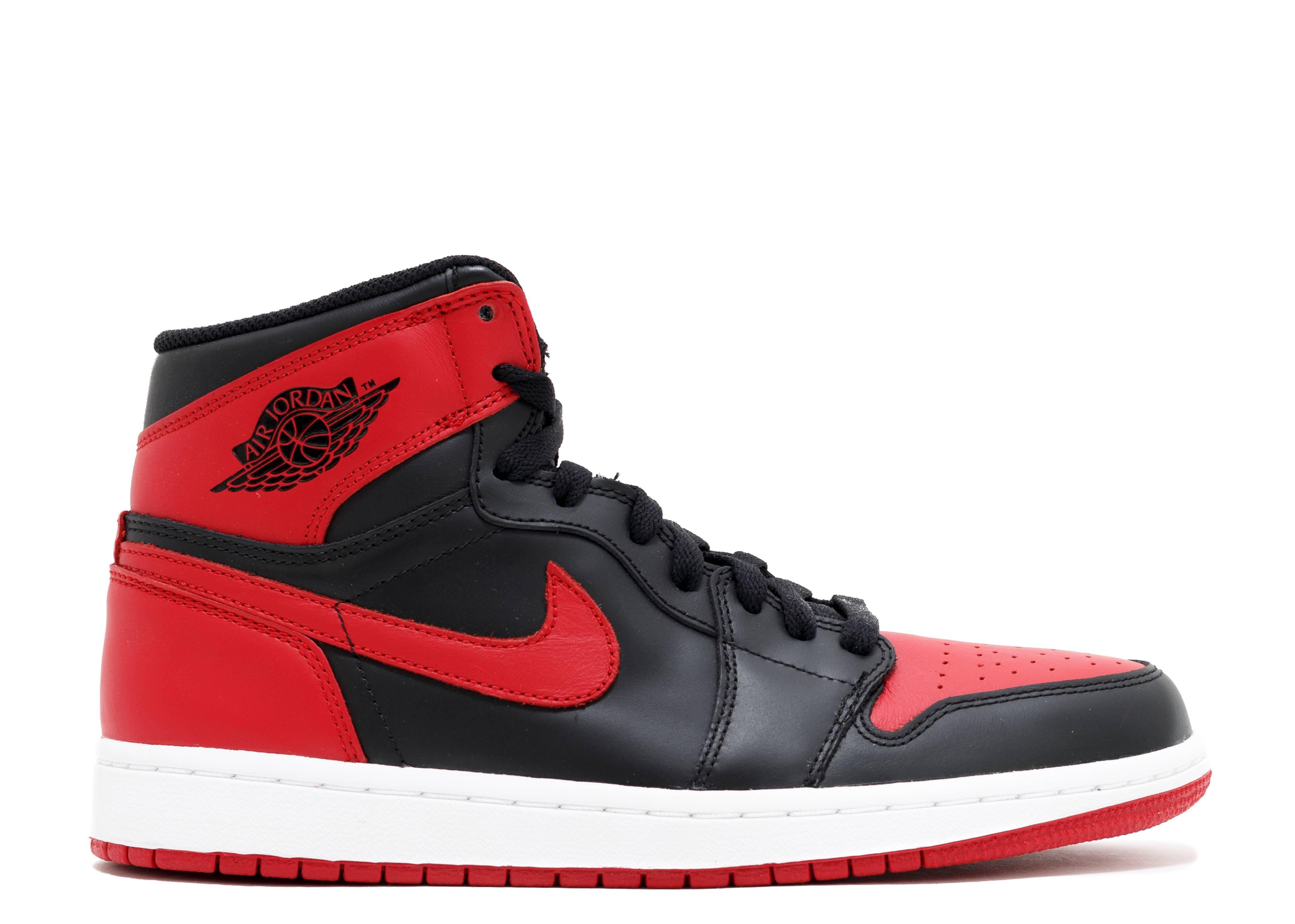 nike air jordan 1 retro high og bred