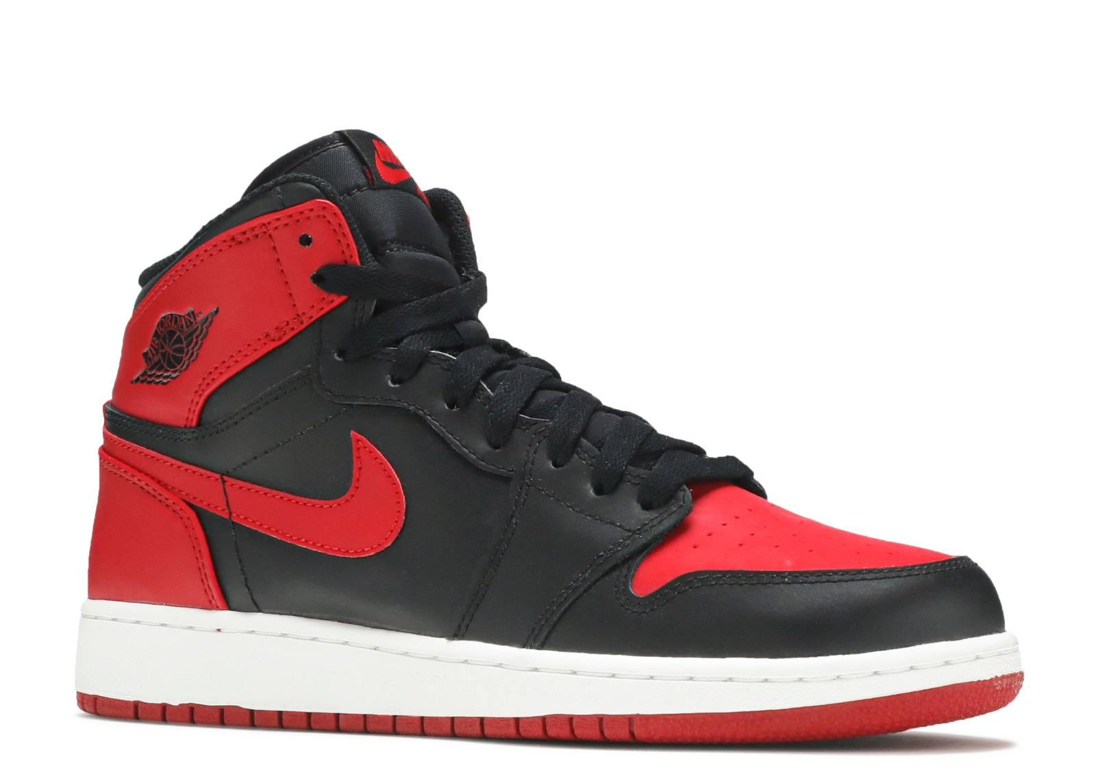 air jordan 1 retro red black