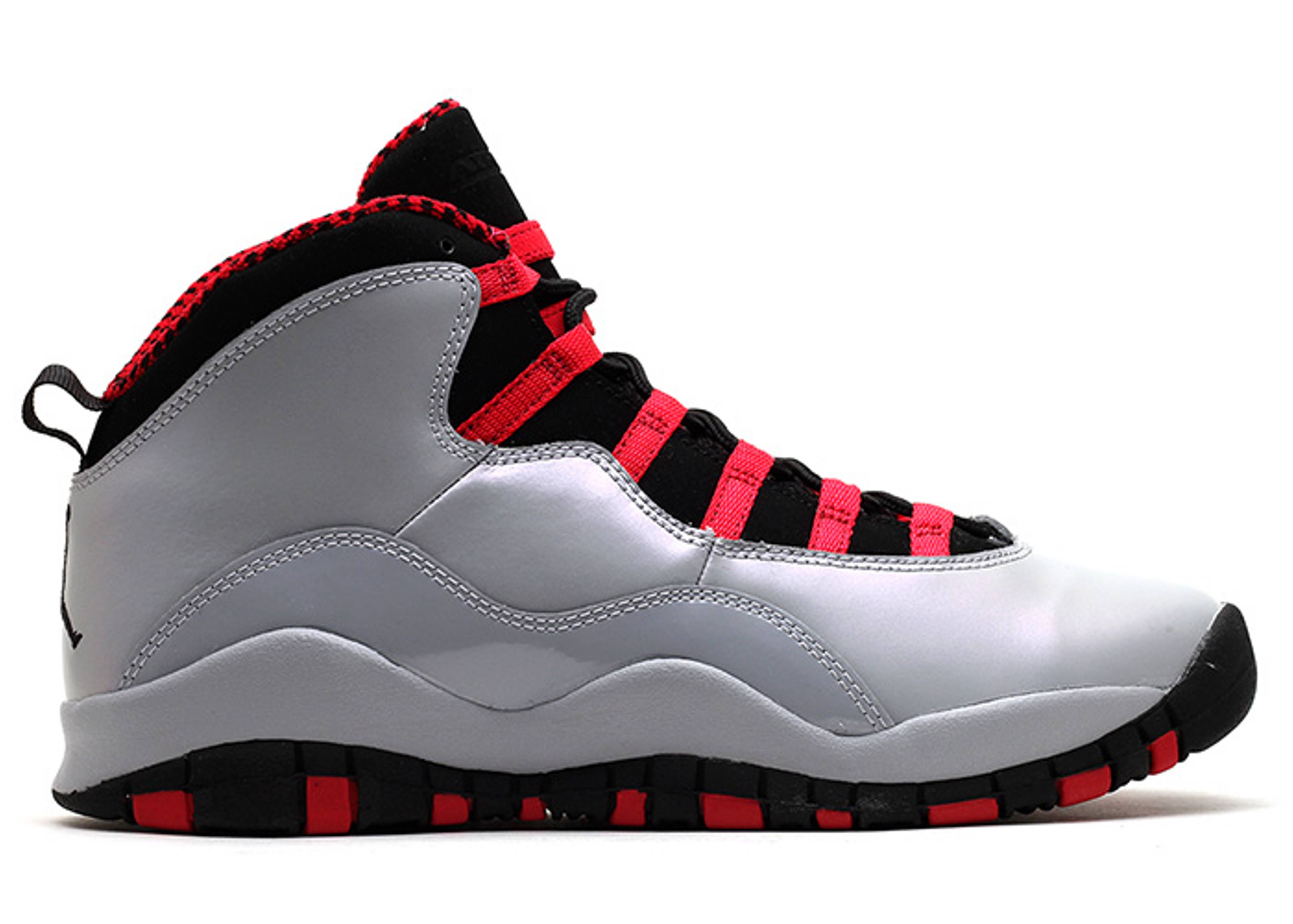 c9b627ef632a65 Girls Air Jordan 10 Retro (gs) - Air Jordan - 487211 009 - wolf grey black-legion  re