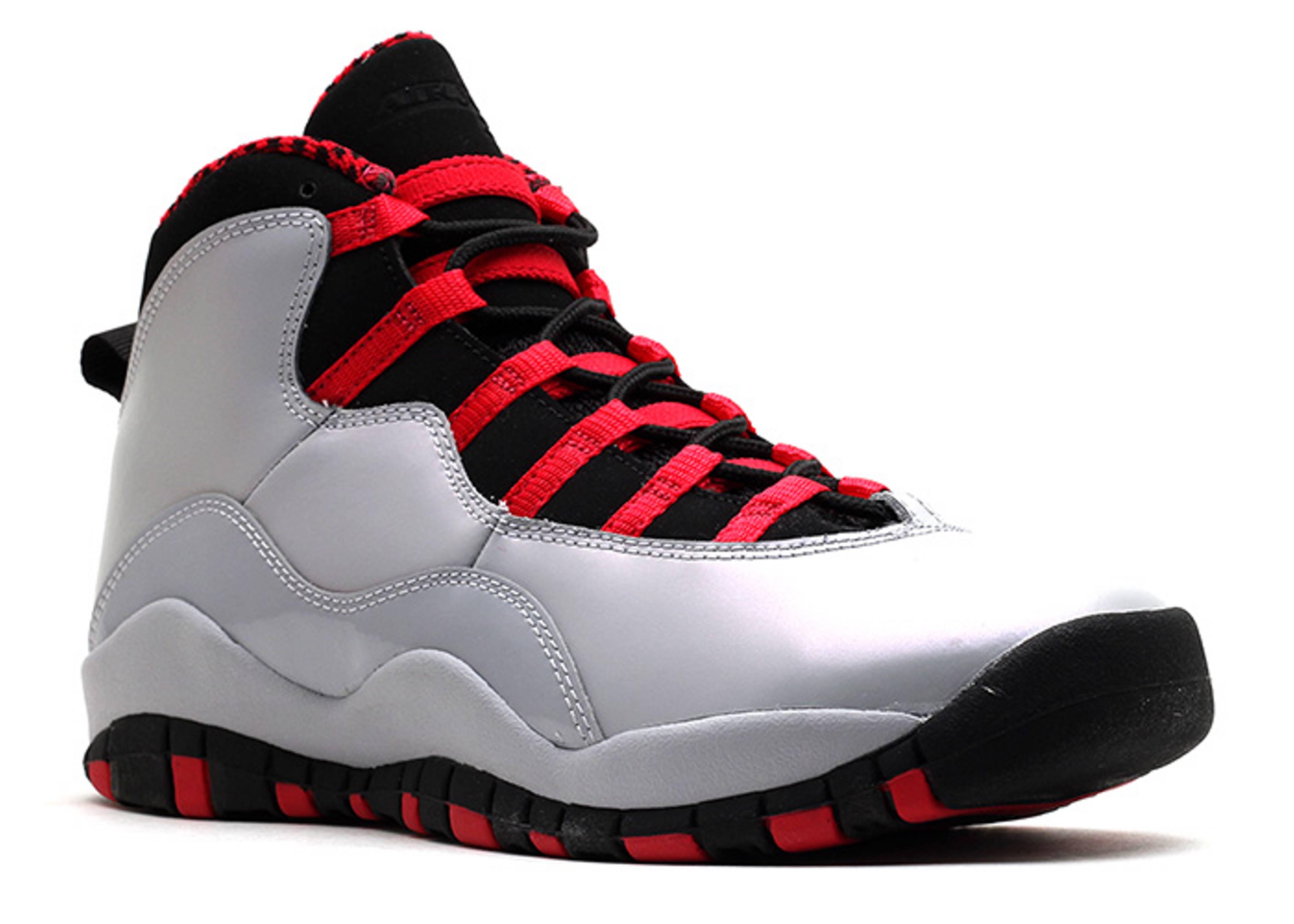 Girls Air Jordan 10 Retro (gs) - 487211-009 - Size 5 - Us Size pv5WFr1