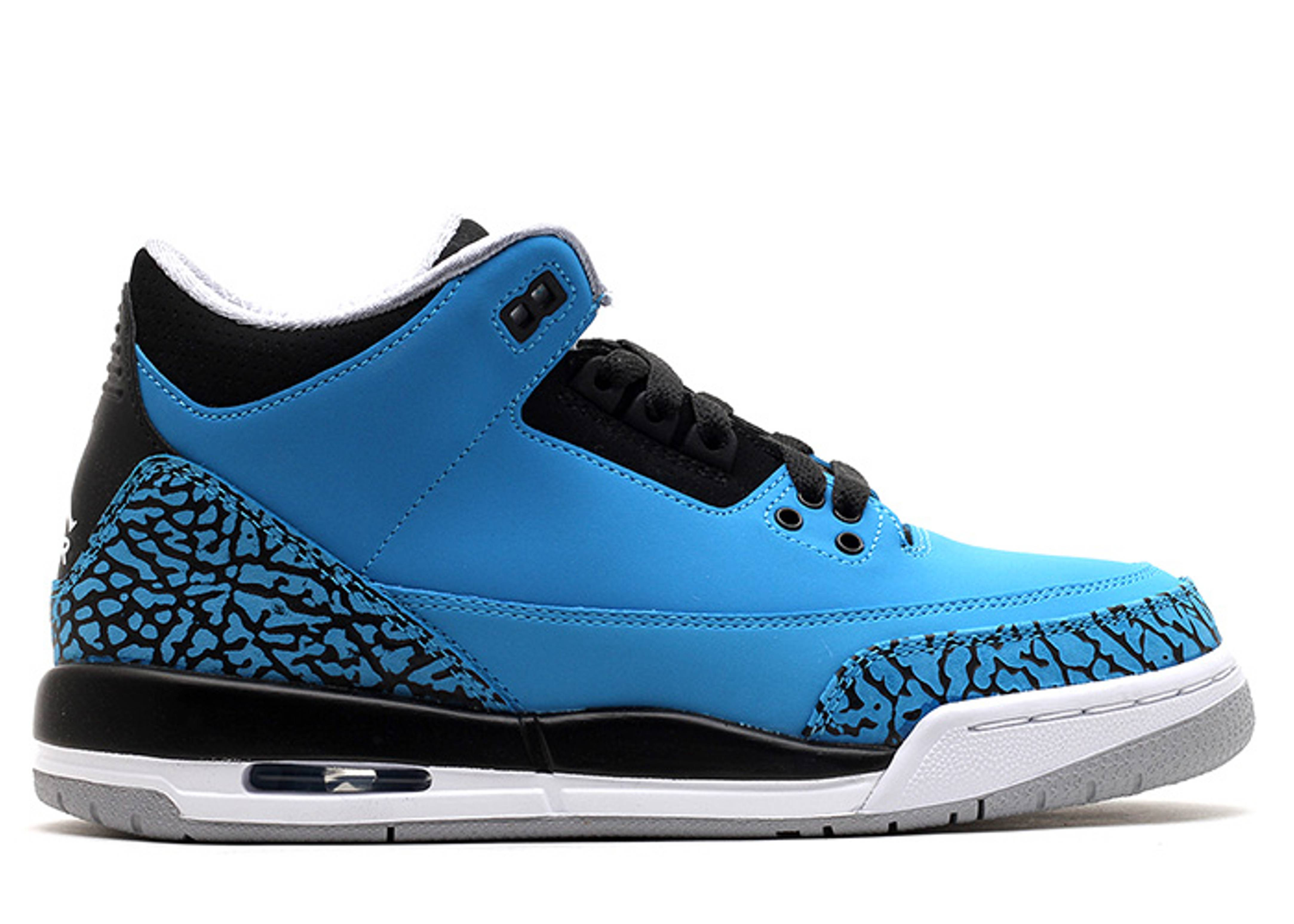 "air jordan 3 retro bg (gs) ""powder blue"""