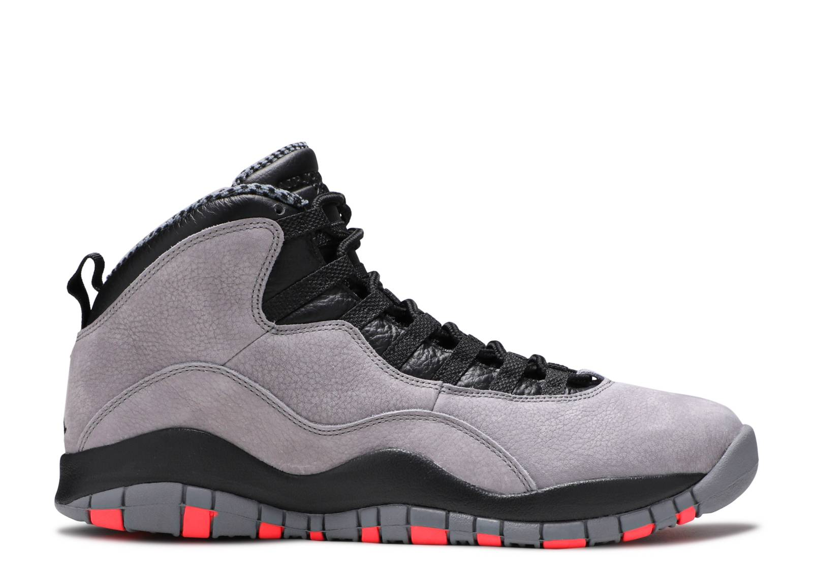 air jordan retro 10 white/black/true red/cool grey