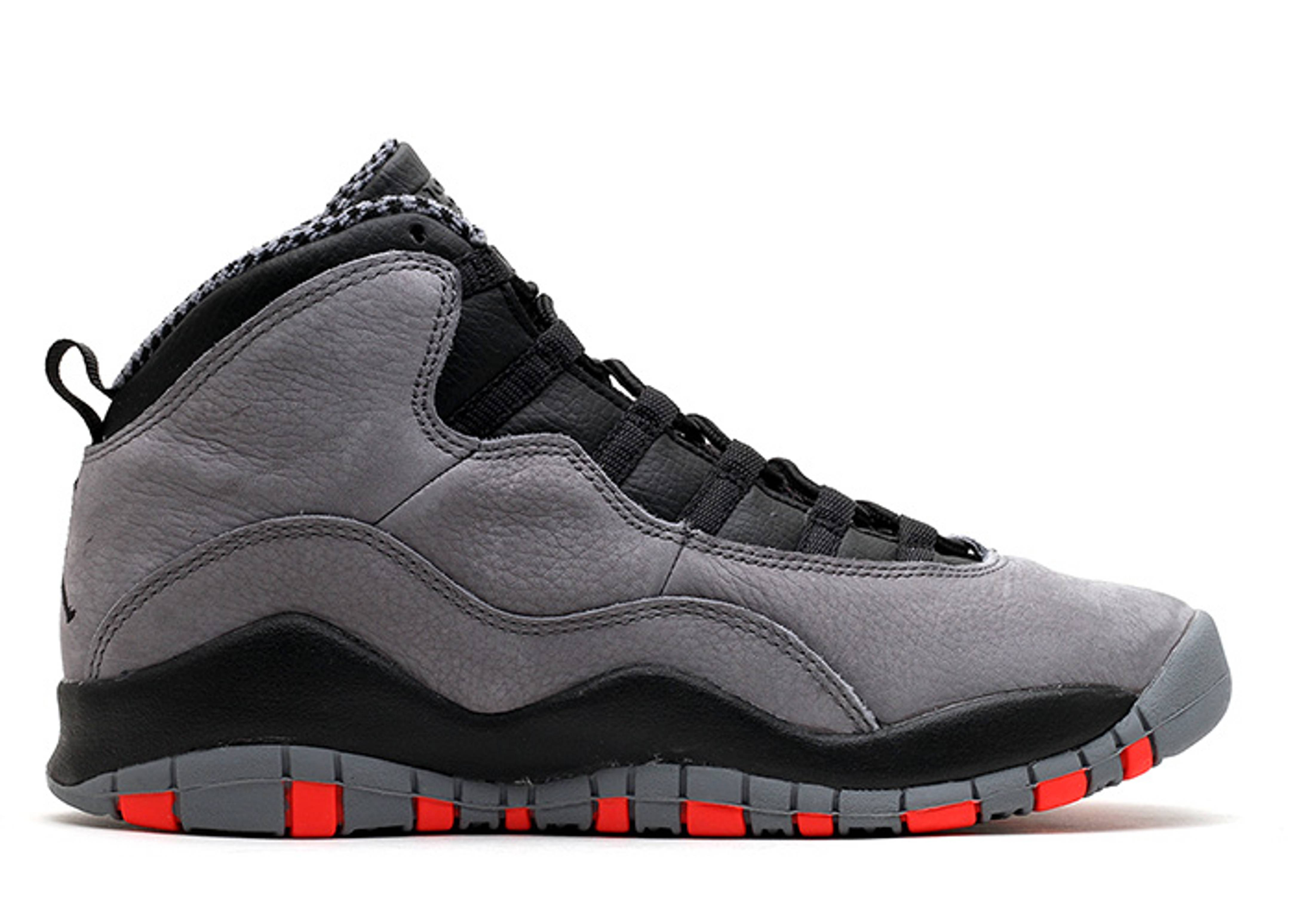 "air jordan 10 retro gs ""cool grey"""