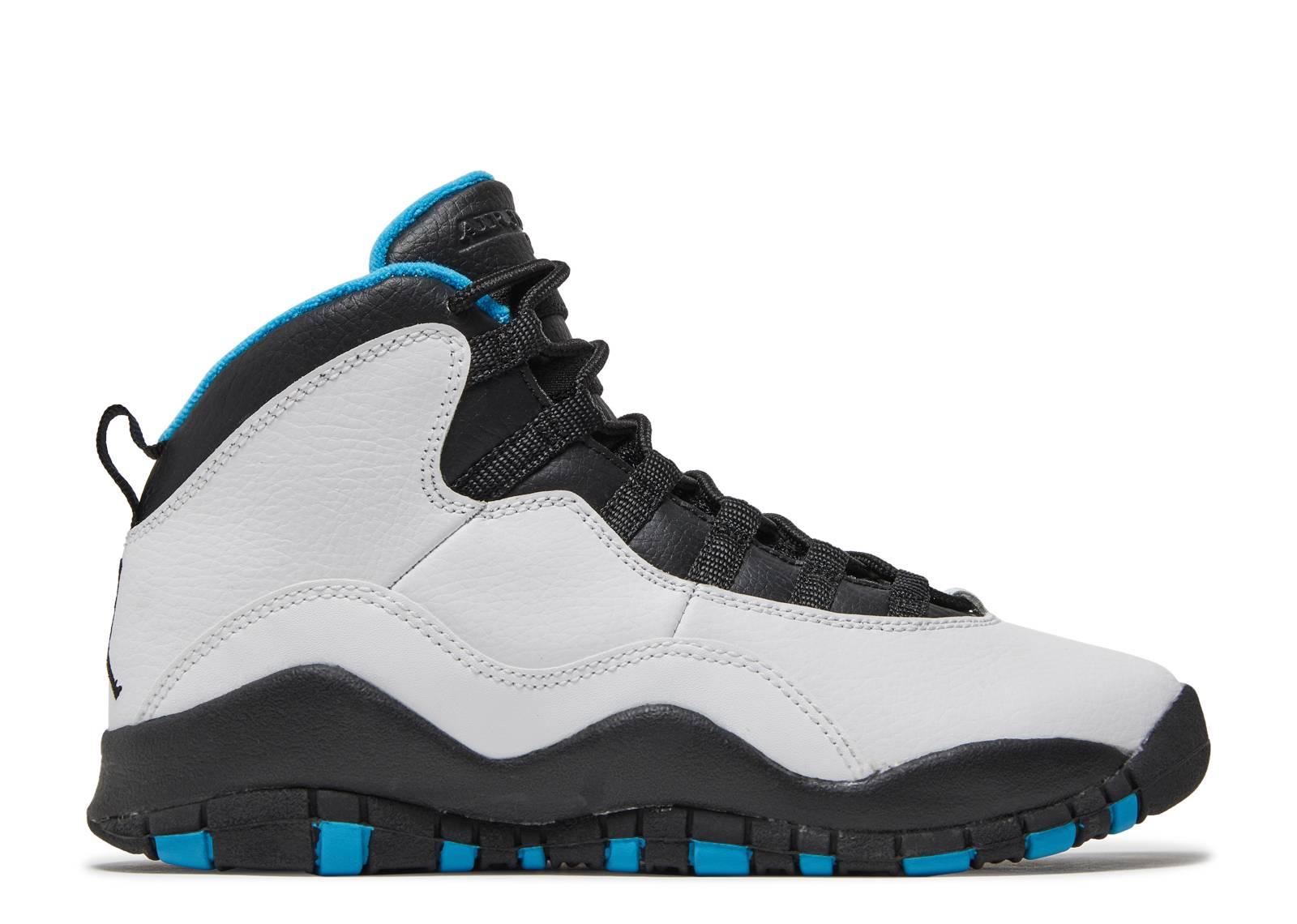 Air Jordan 10 Retro (gs) 'Powder Blue' - 310806-106 - Size 4.5 - Us Size dPpOu0