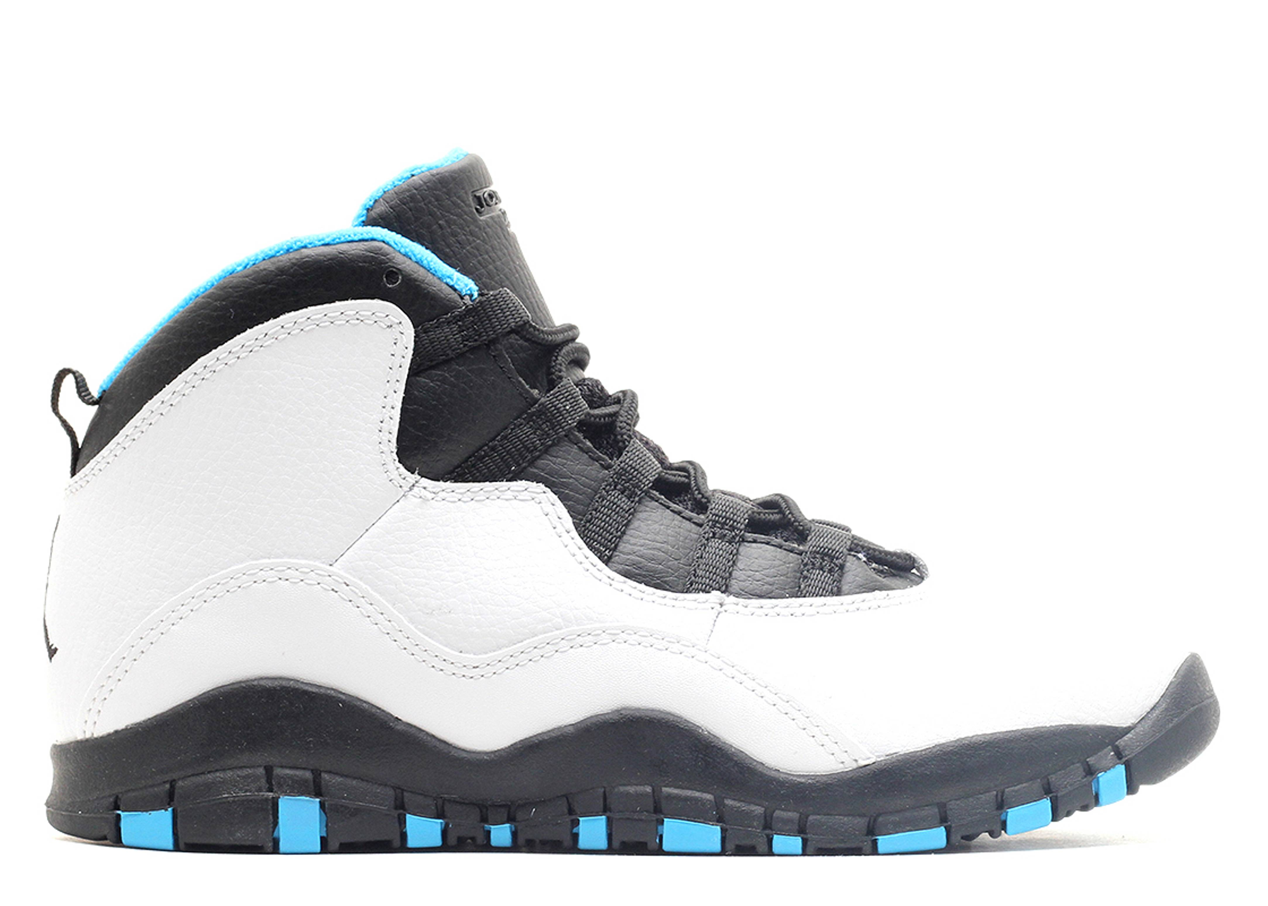 "jordan 10 retro (ps) ""powder blue"""