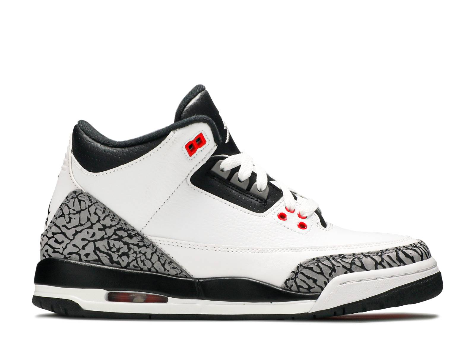 Air jordan 3 retro bg gs infrared 23 air jordan for Retro images