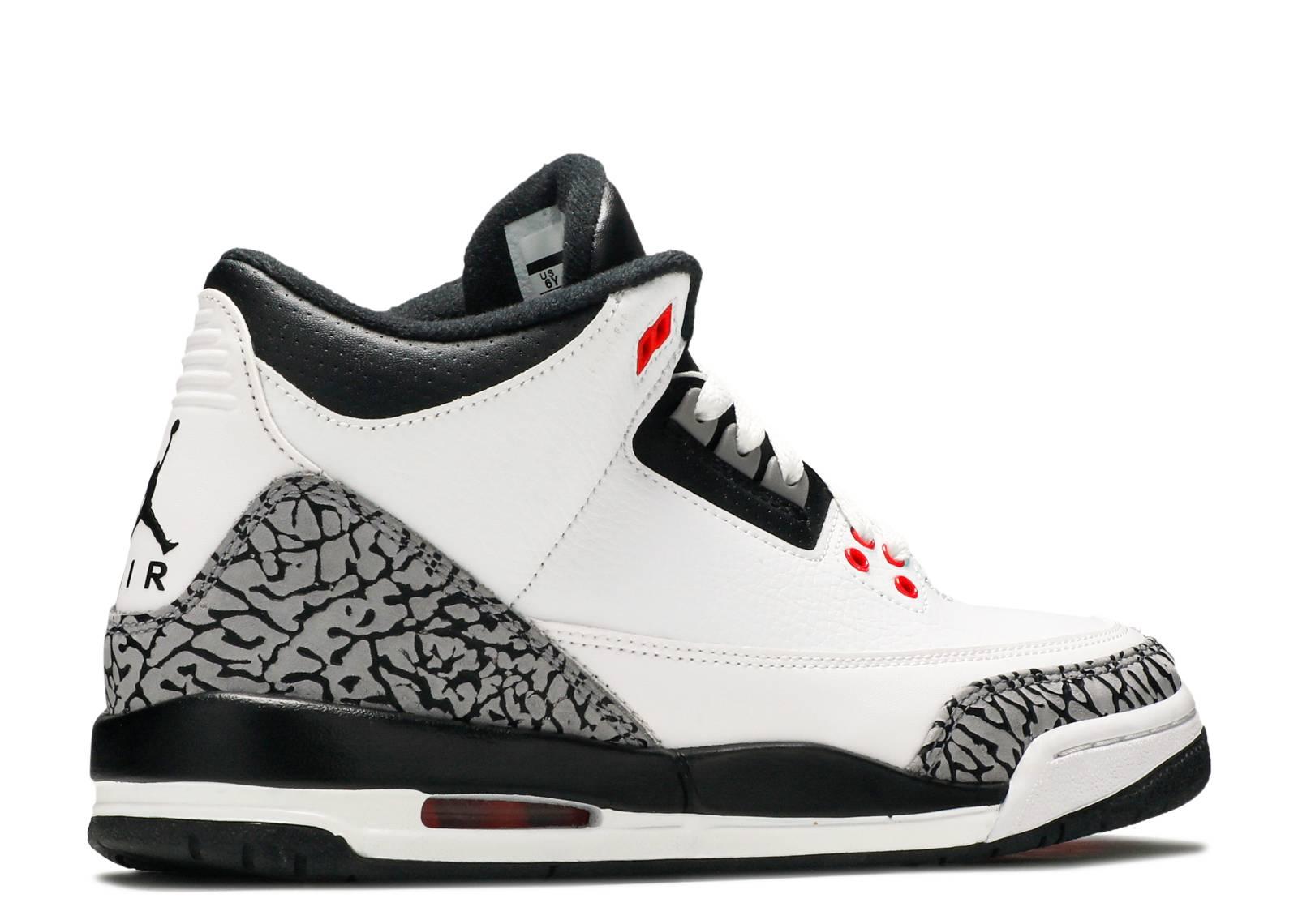 01e5ec7b988 Air Jordan 3 Retro Bg (gs)