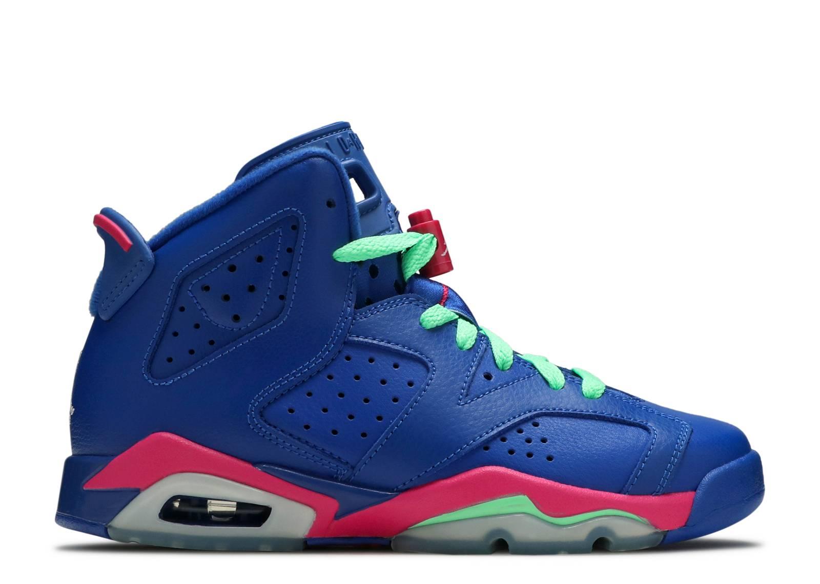 Air Jordan 6 Chaussures De Sport Gs Rétro Royal Jeu
