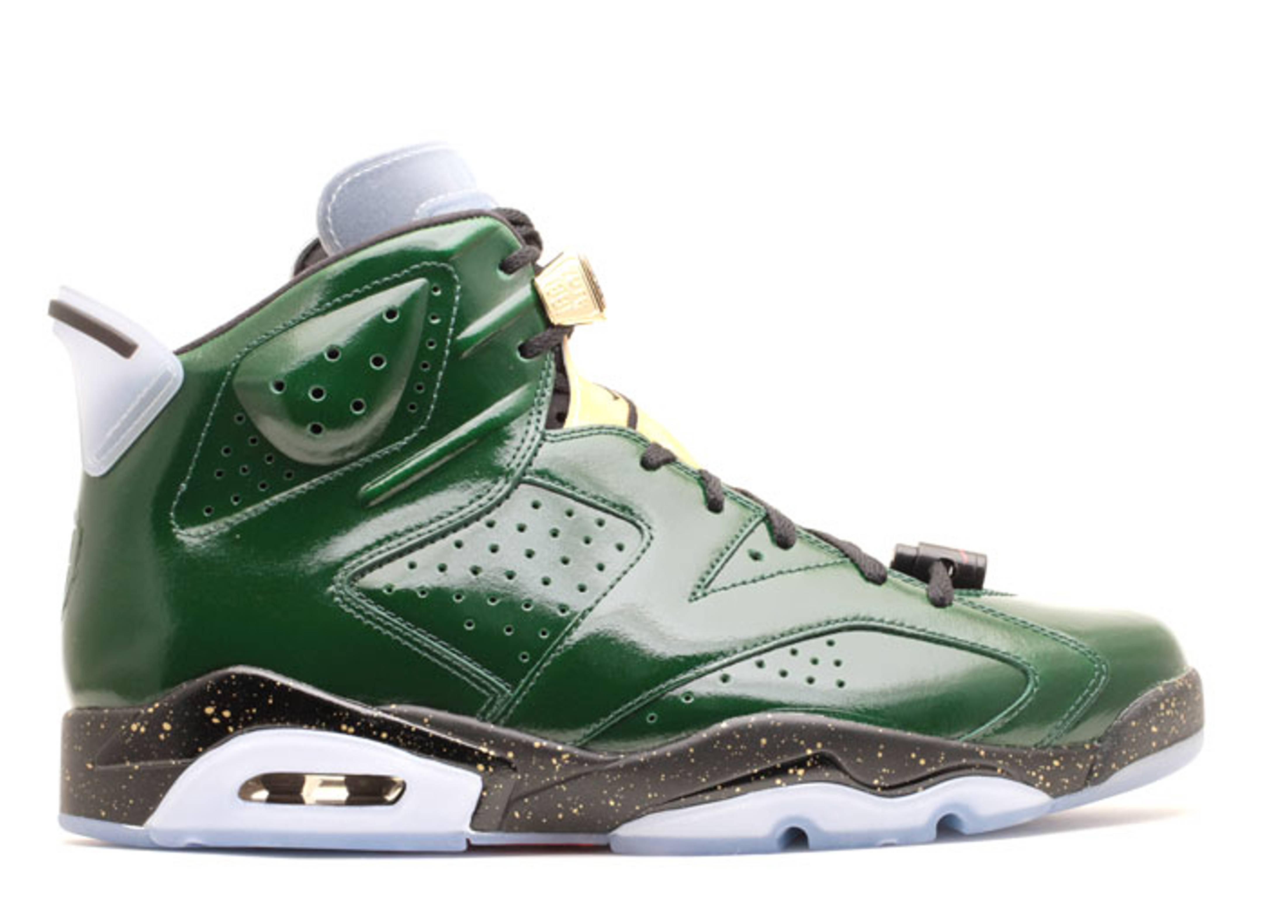air jordan retro 7 gold green