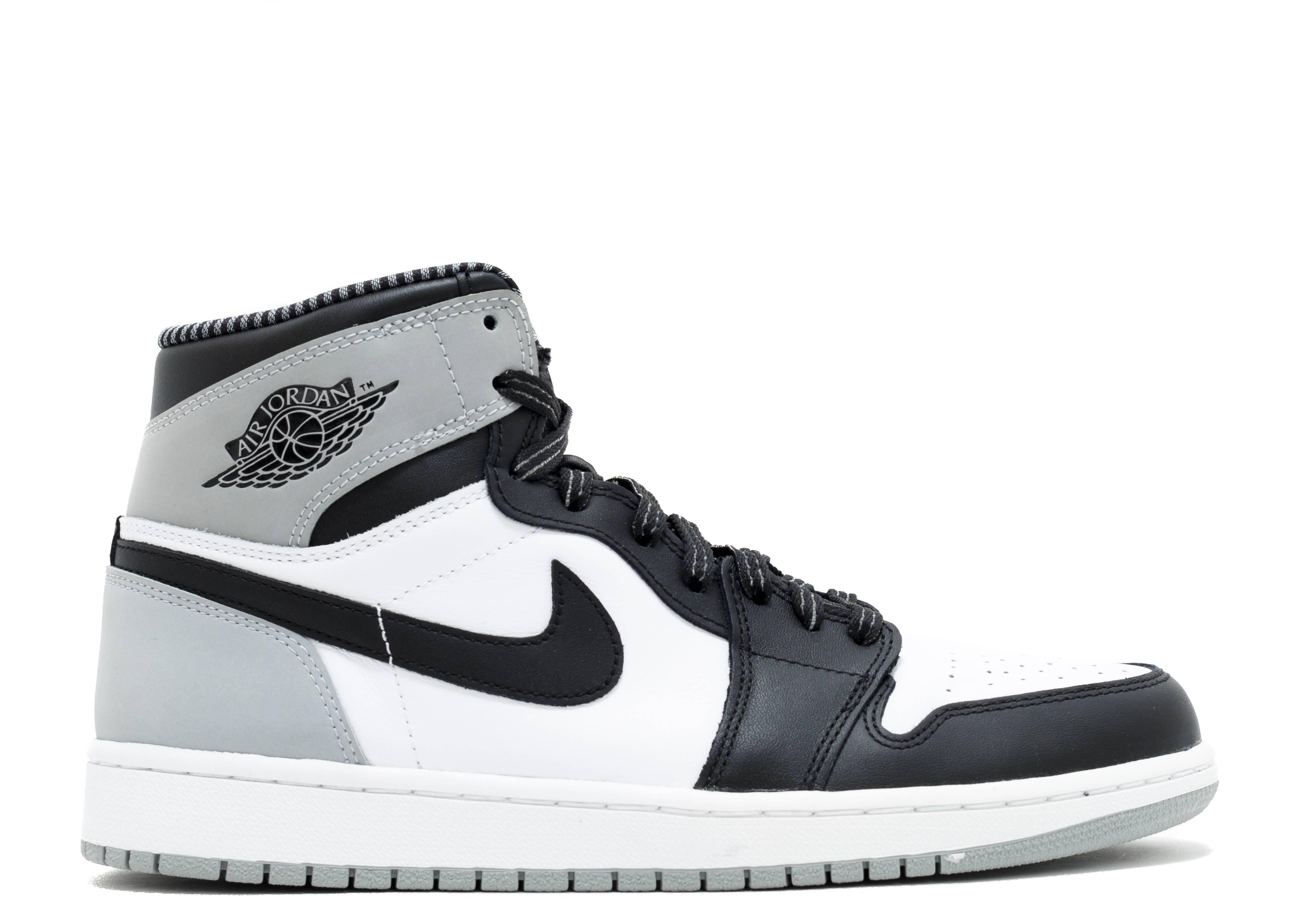 Air Jordan 1 Grey And White