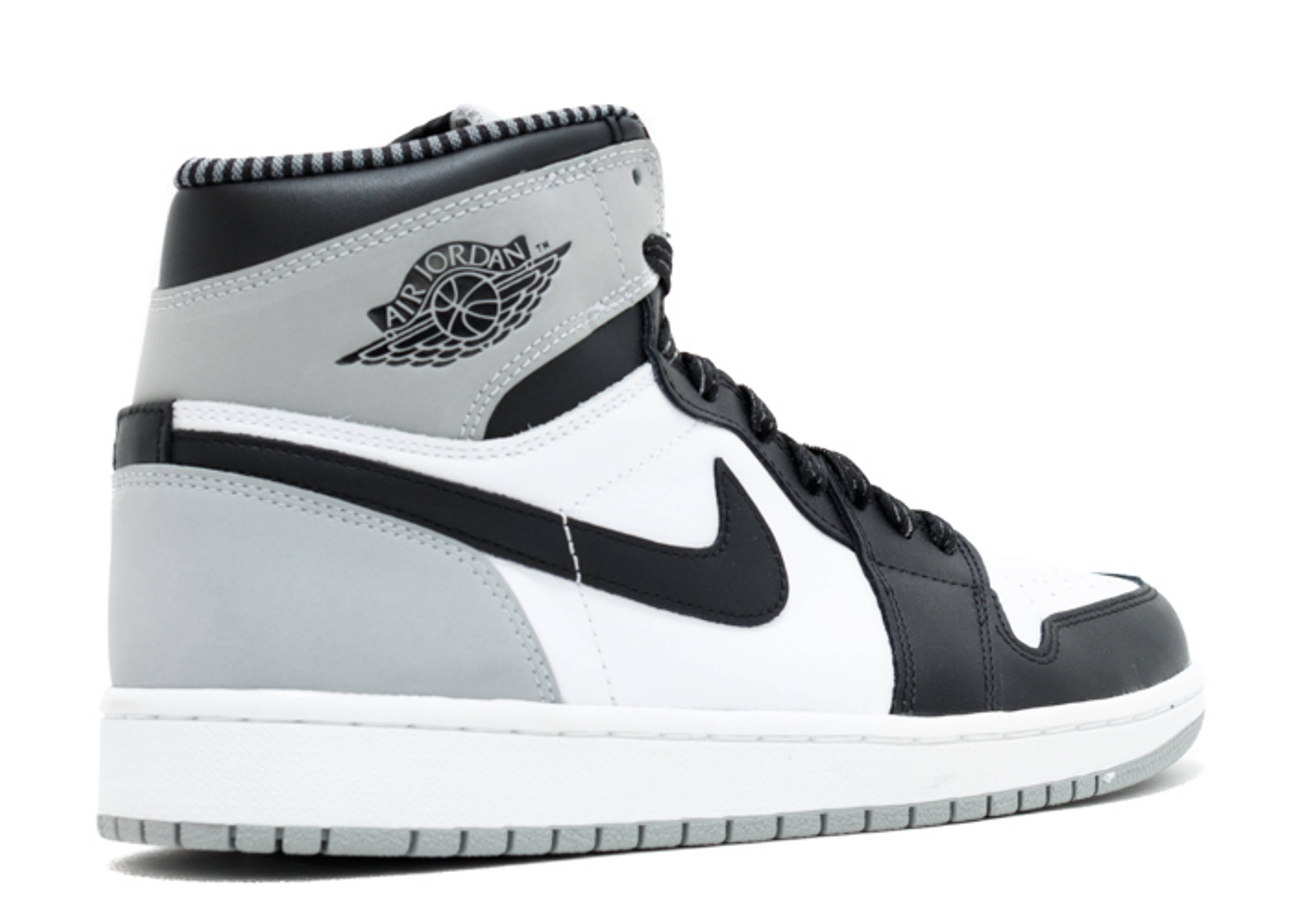 air jordan retro 1 grey black