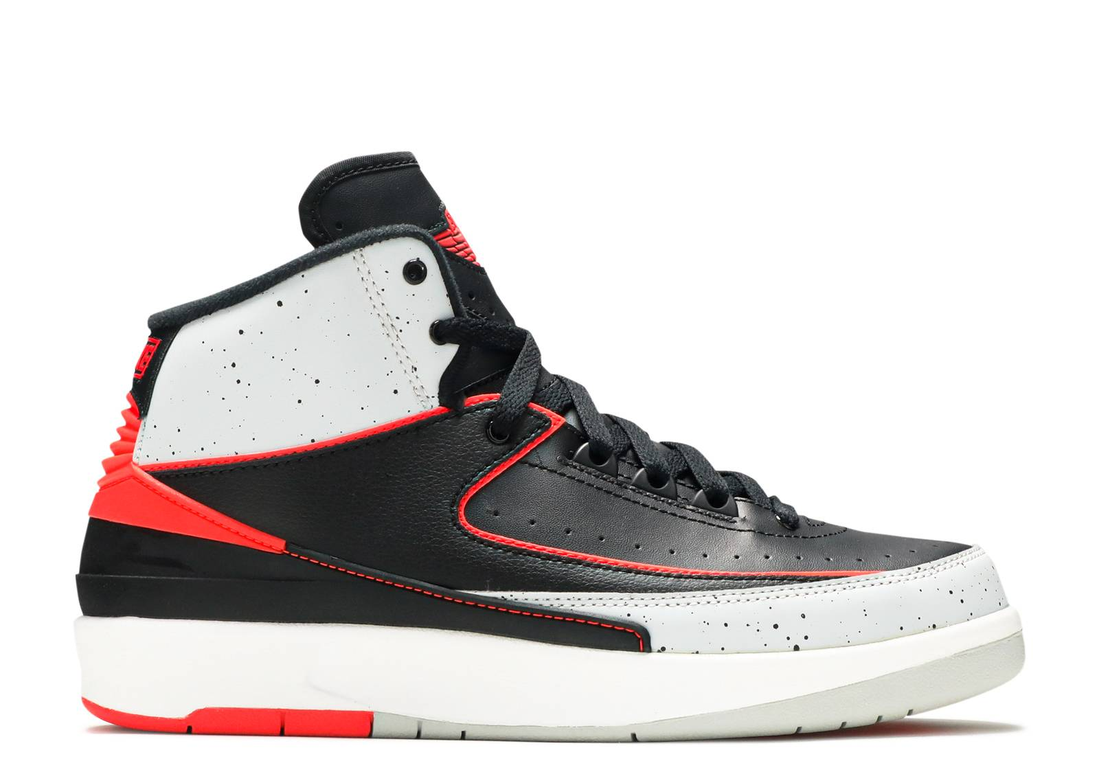 "air jordan 2 retro bg (gs) ""infrared 23"""