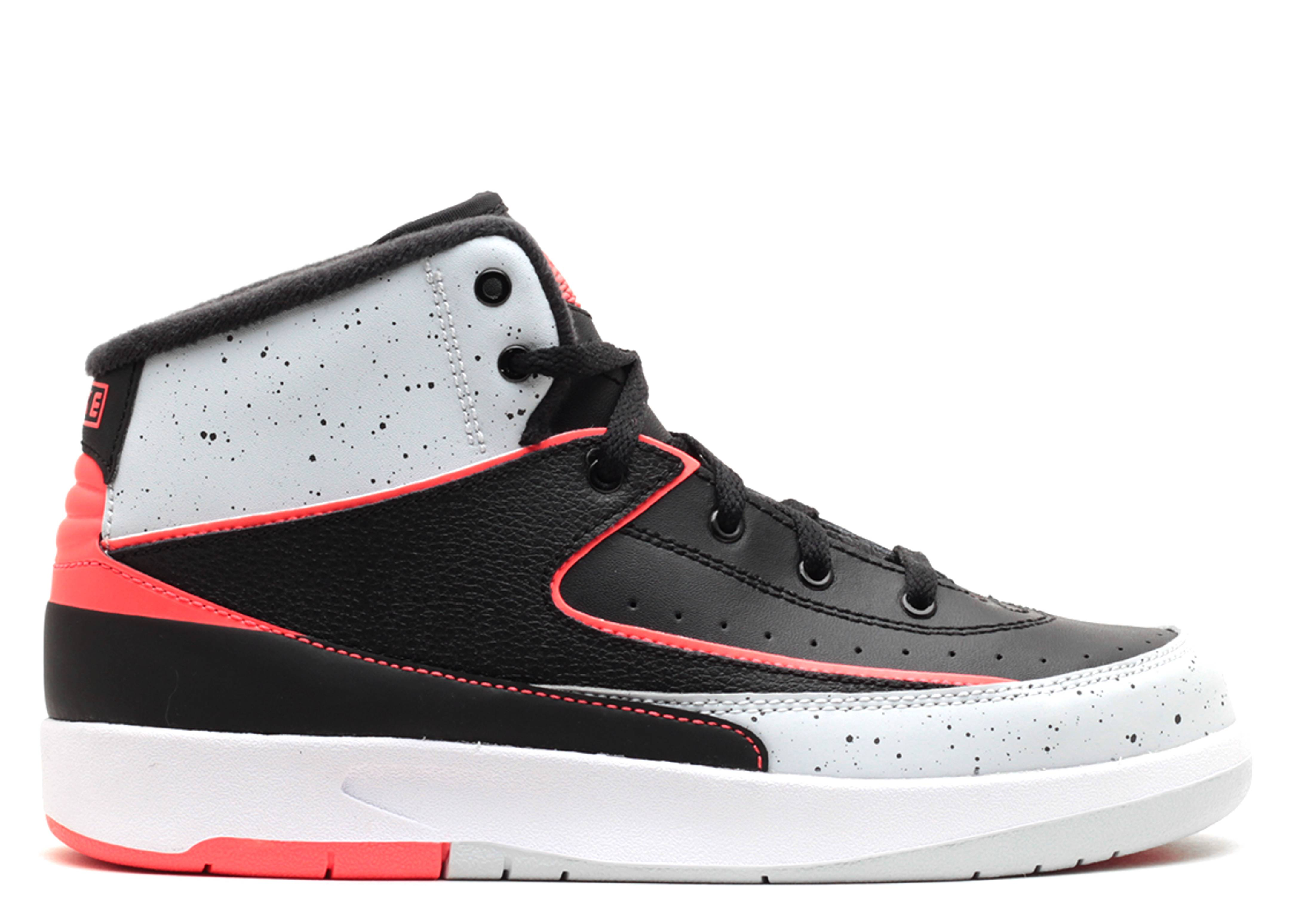 "jordan 2 retro bp ps ""infrared 23"""