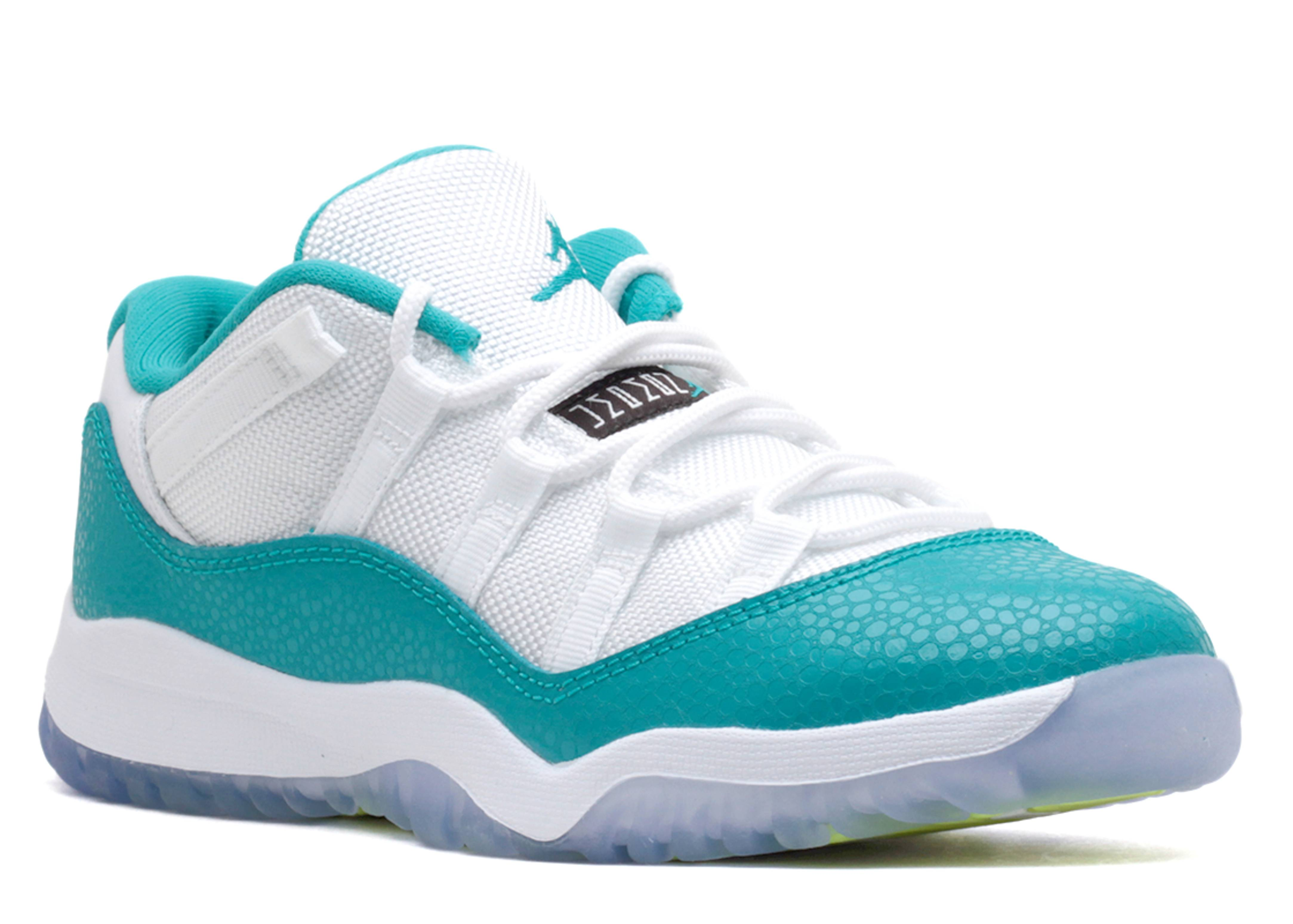 air jordan 11 aqua safari