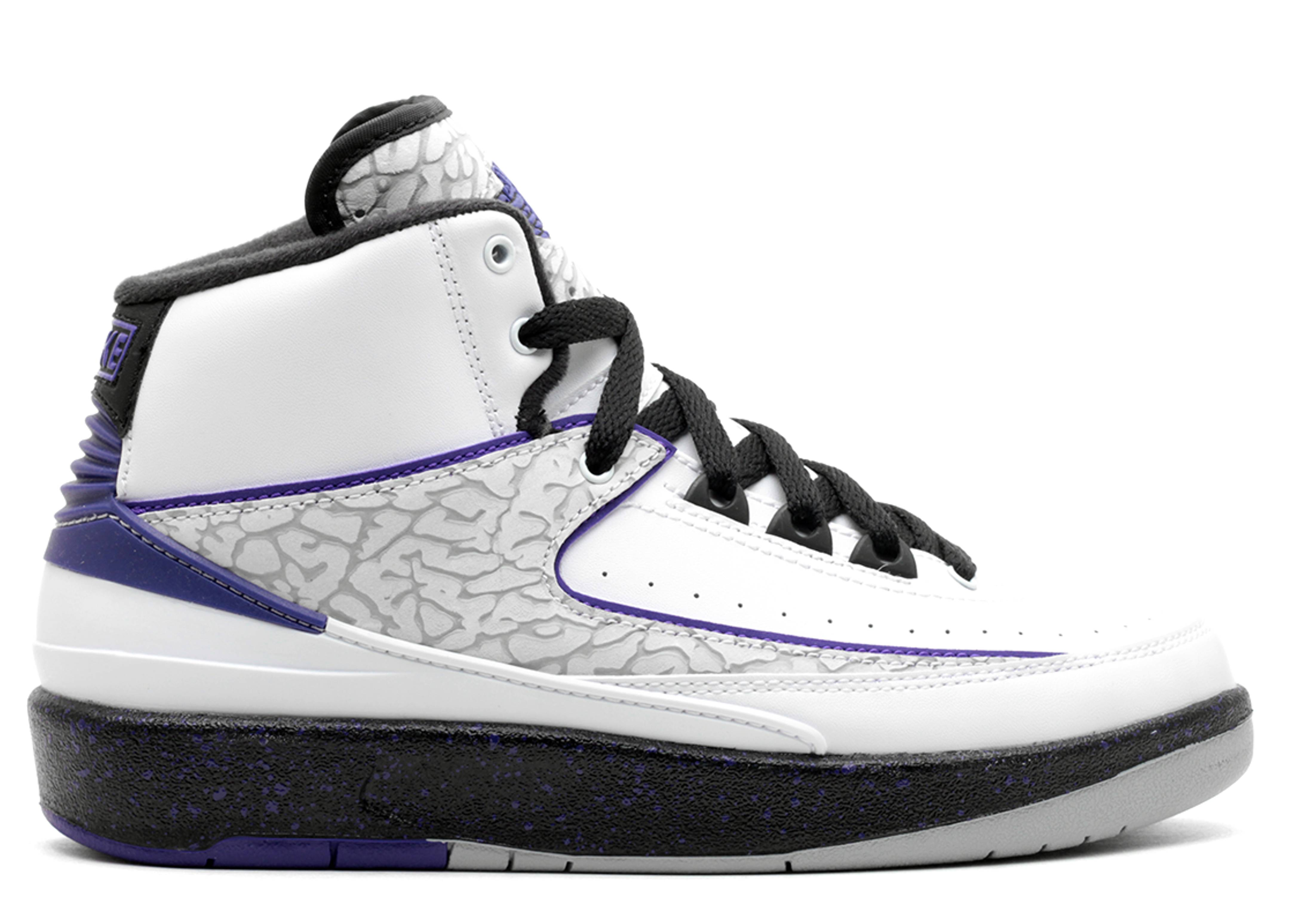 "air jordan 2 retro bg (gs) ""concord"""