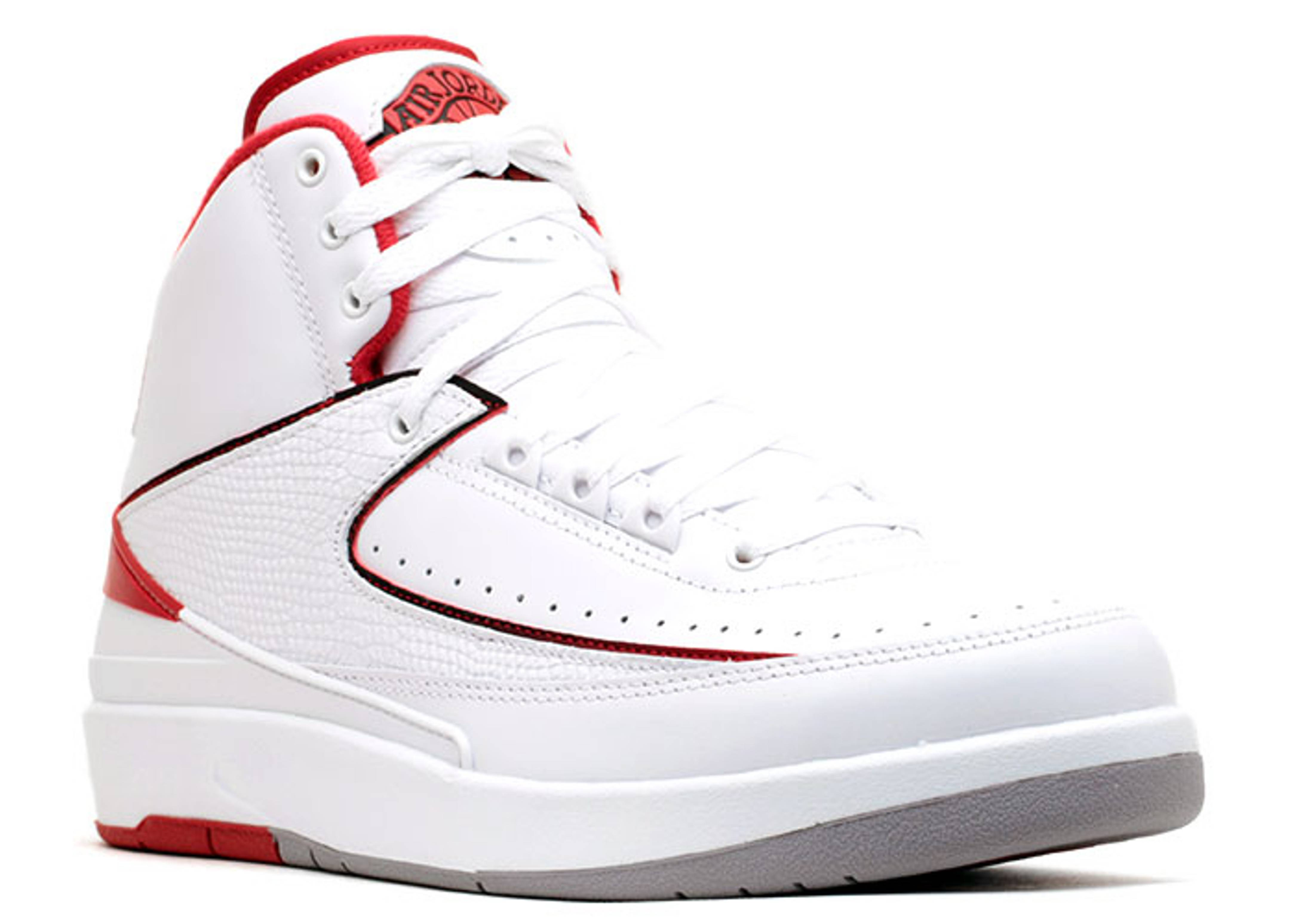 timeless design 64476 9fc0c air jordan 2 white and red