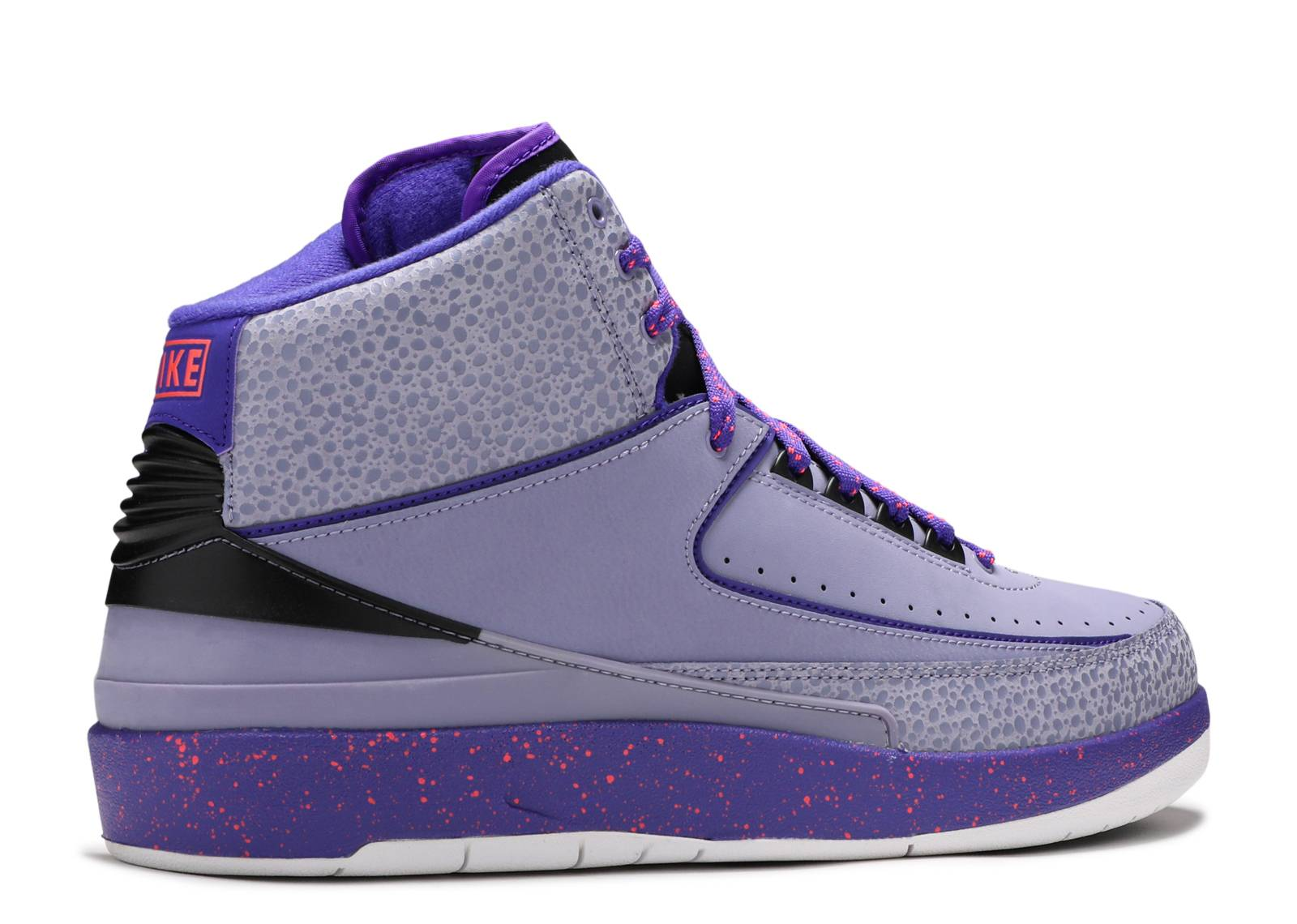 air jordan retro 2 purple yellow