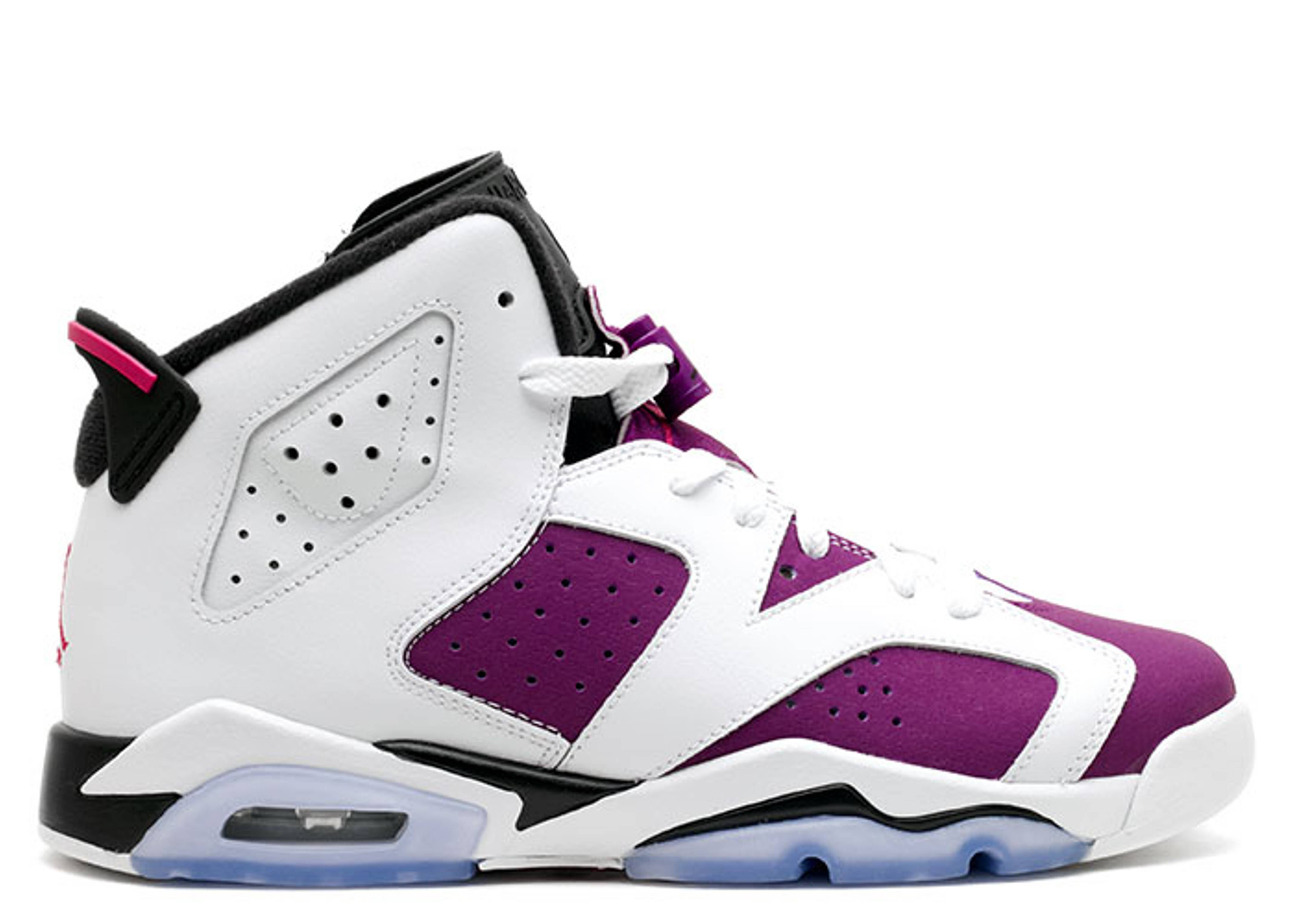 1f08d7775798b4 Air Jordan 6 Retro Gg (gs) - Air Jordan - 543390 127 - white vivid  pink-brght grp-blk