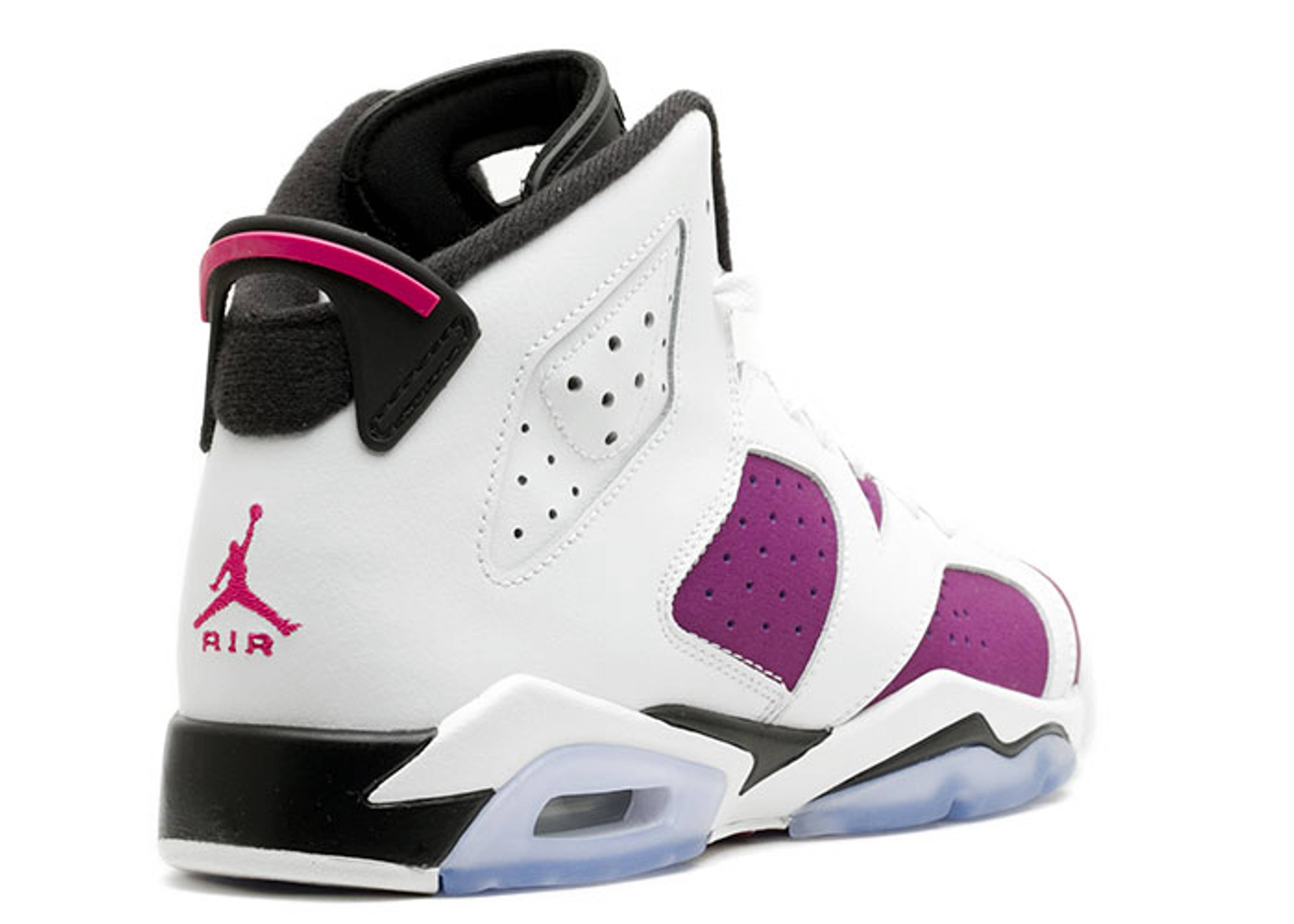 san francisco fd3a9 2577d Air Jordan 6 Retro Gg (gs) - Air Jordan - 543390 127 - white vivid  pink-brght grp-blk   Flight Club
