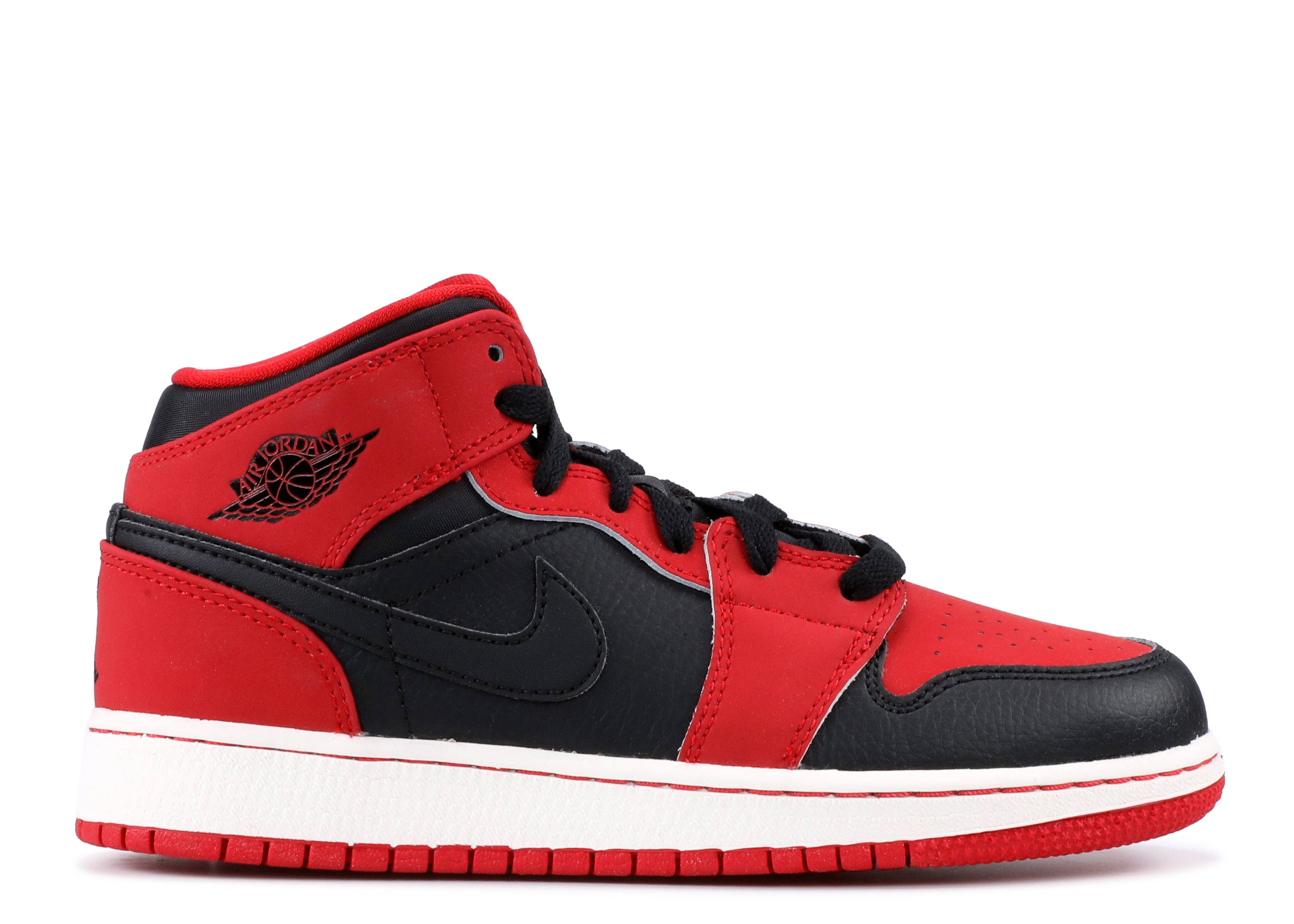 air jordan 1 mid bg (gs)