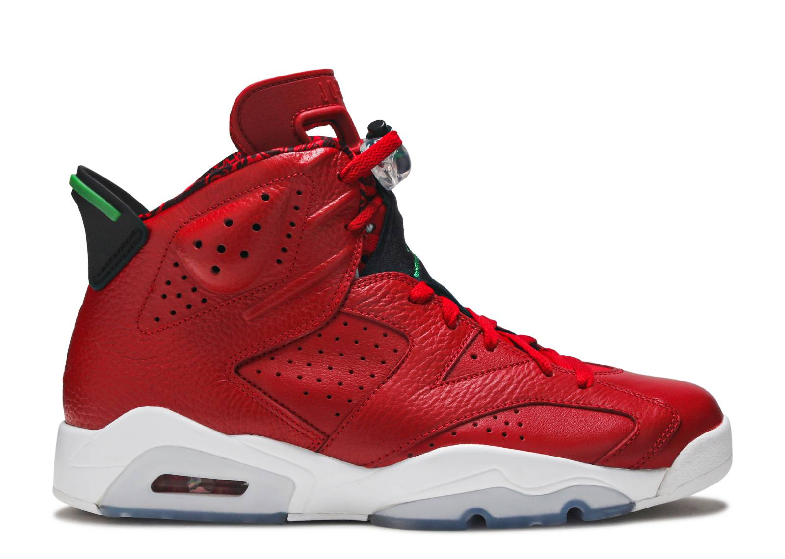 "air jordan 6 retro spiz'ike ""history of jordan"""