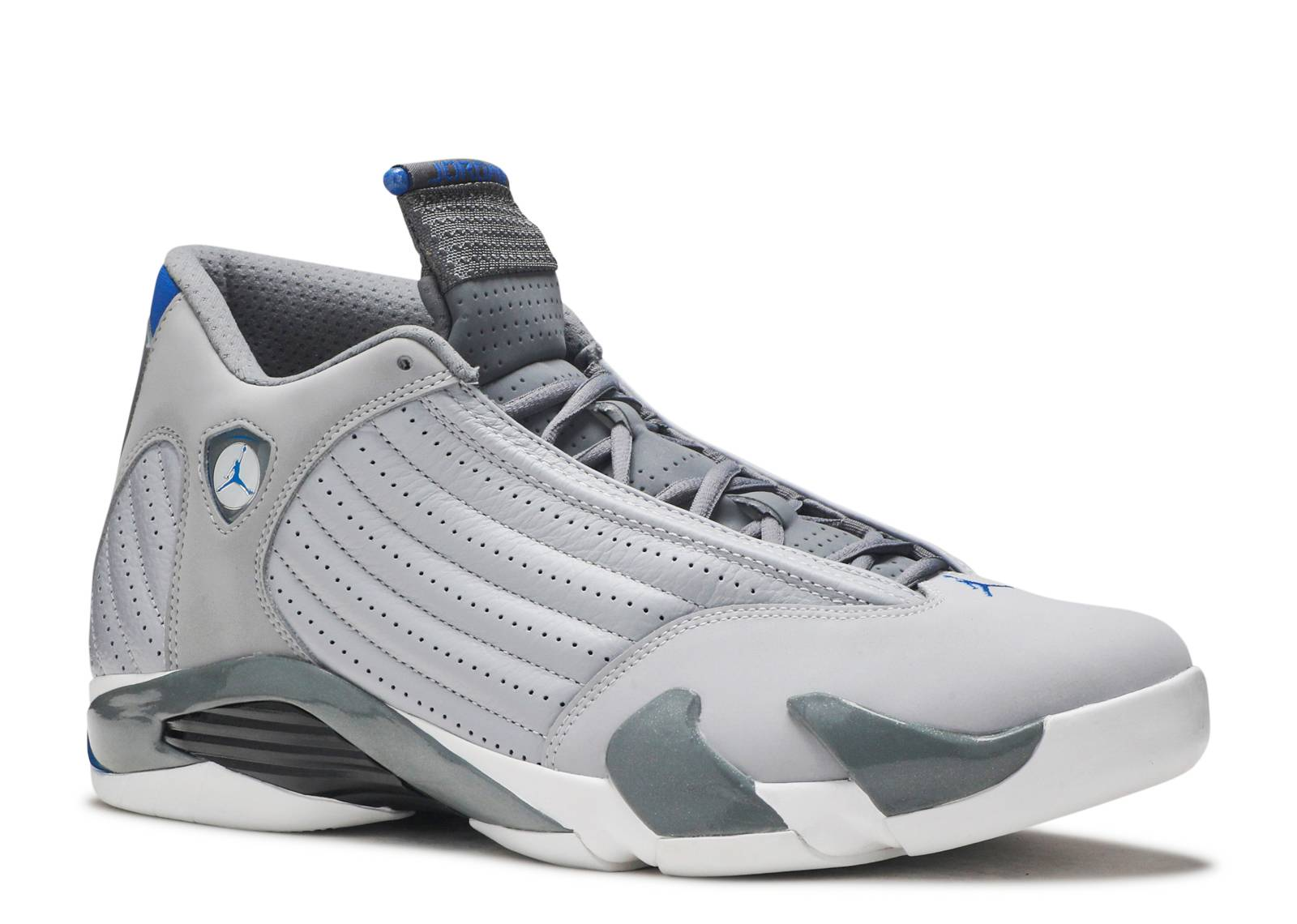 Air Jordan 14 Grey And Blue