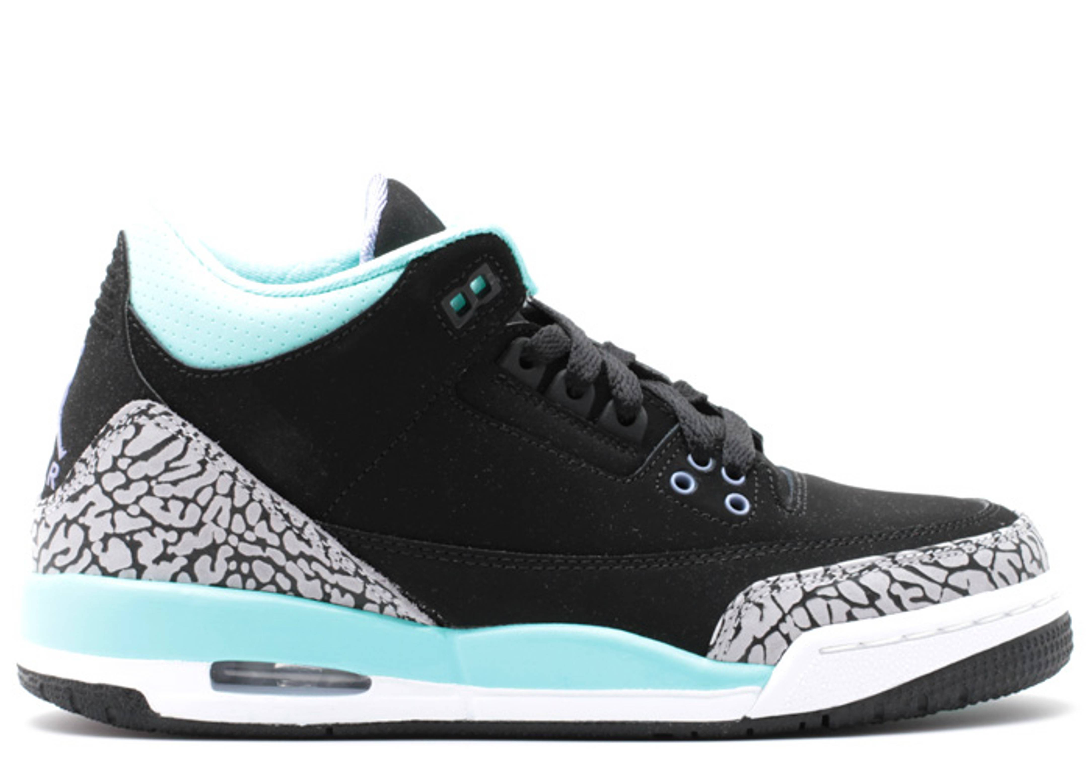 "air jordan 3 retro gg (gs) ""Black Mint"""