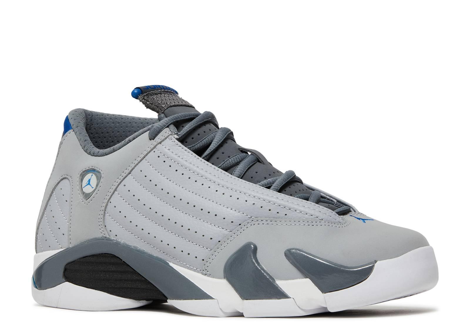 Air Jordan 14 Retro Bg Gs Bleu De Sport réduction Nice sortie à vendre best-seller de sortie combien à vendre Footlocker en ligne EU0w7V