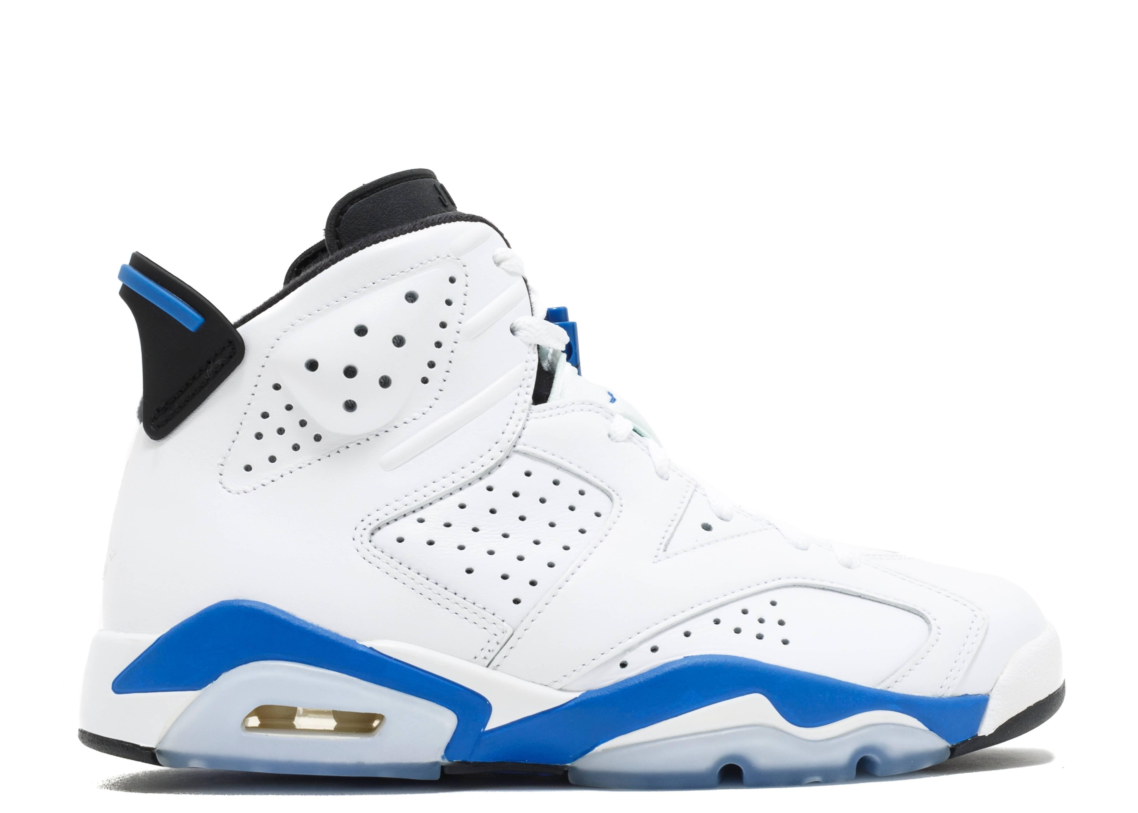 """air jordan 6 retro """"sport blue"""""""