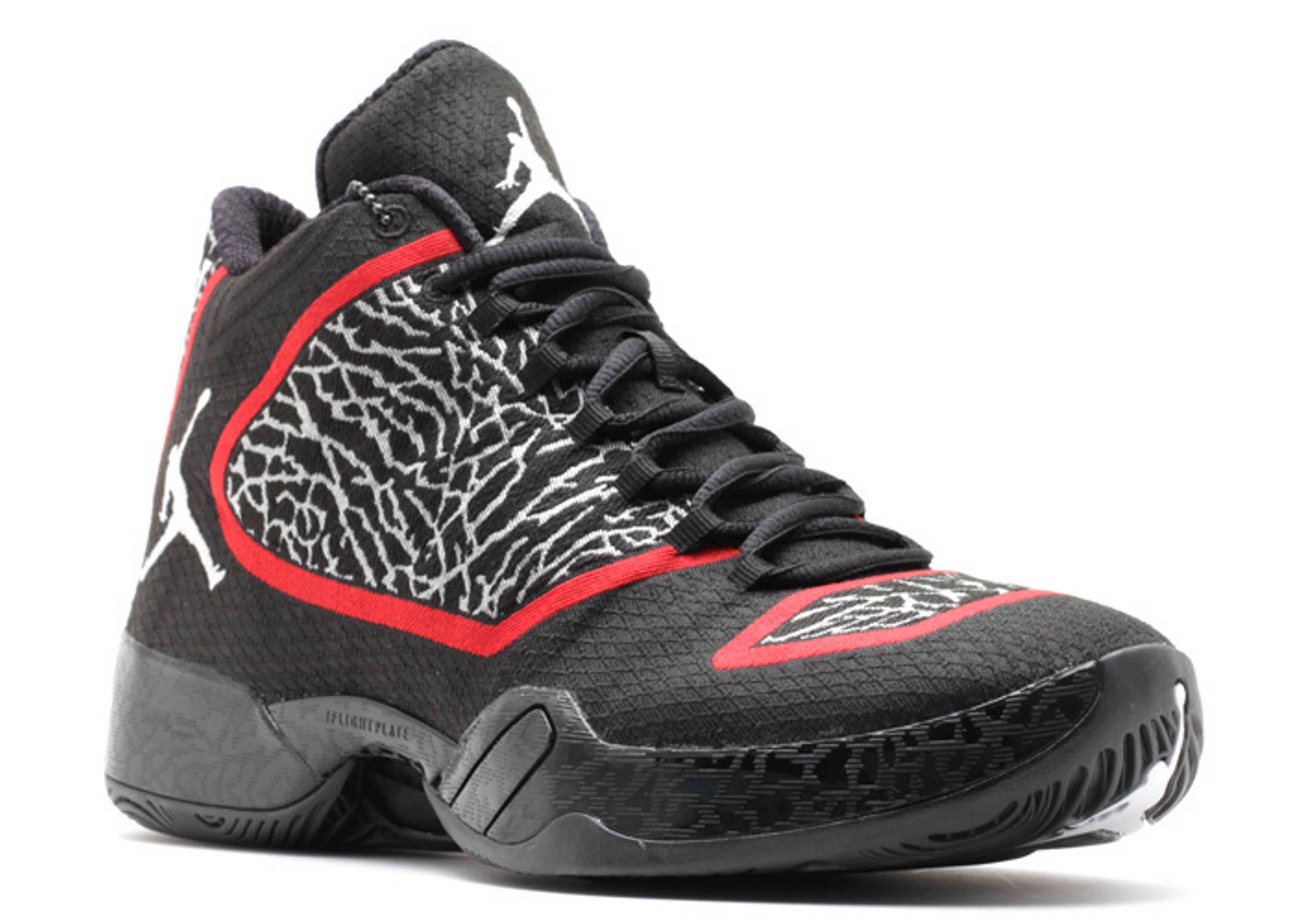 e42114011696 Air Jordan 29 - Air Jordan - 695515 023 - blk wht red