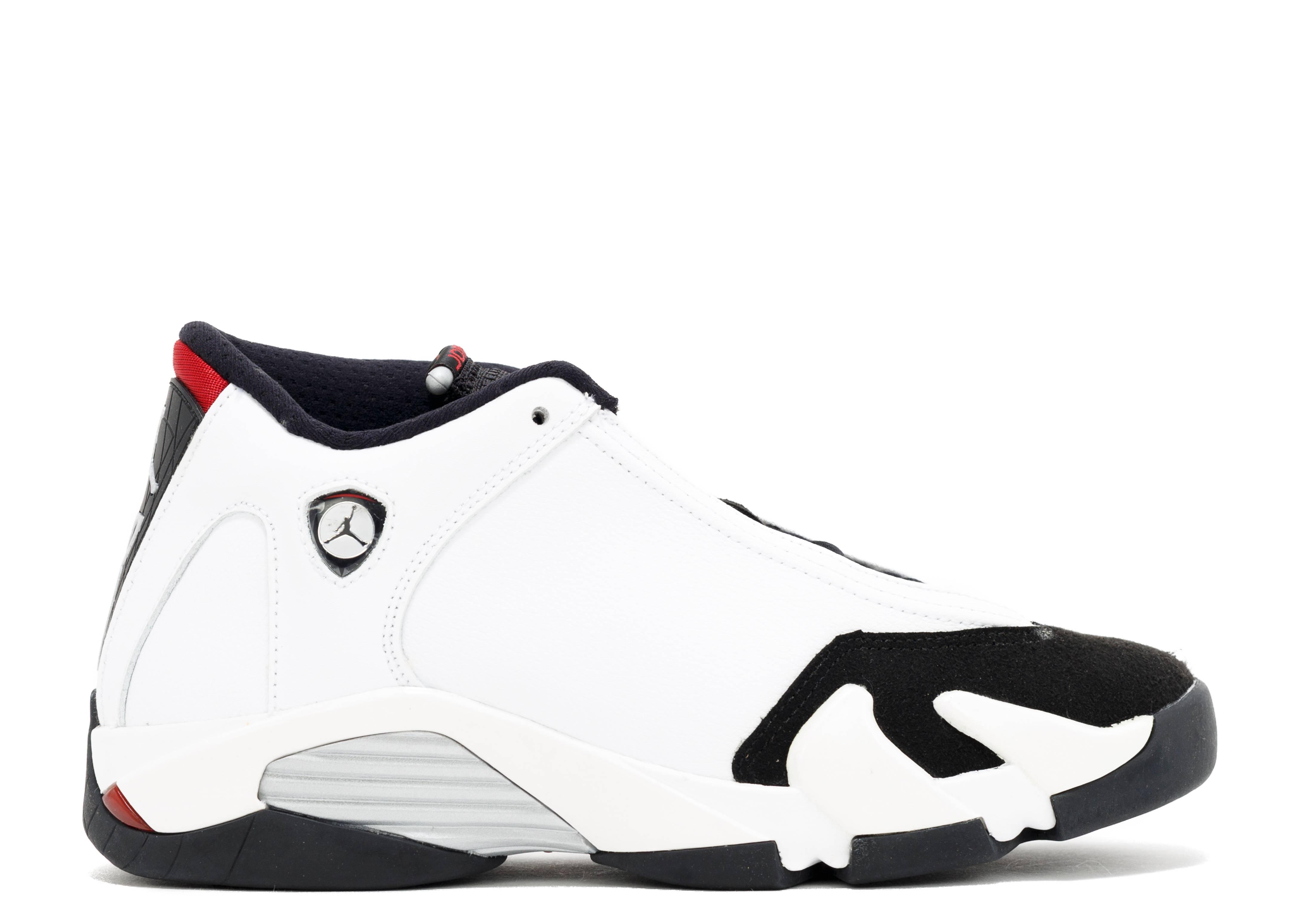 """air jordan 14 (gs) """"black toe"""""""