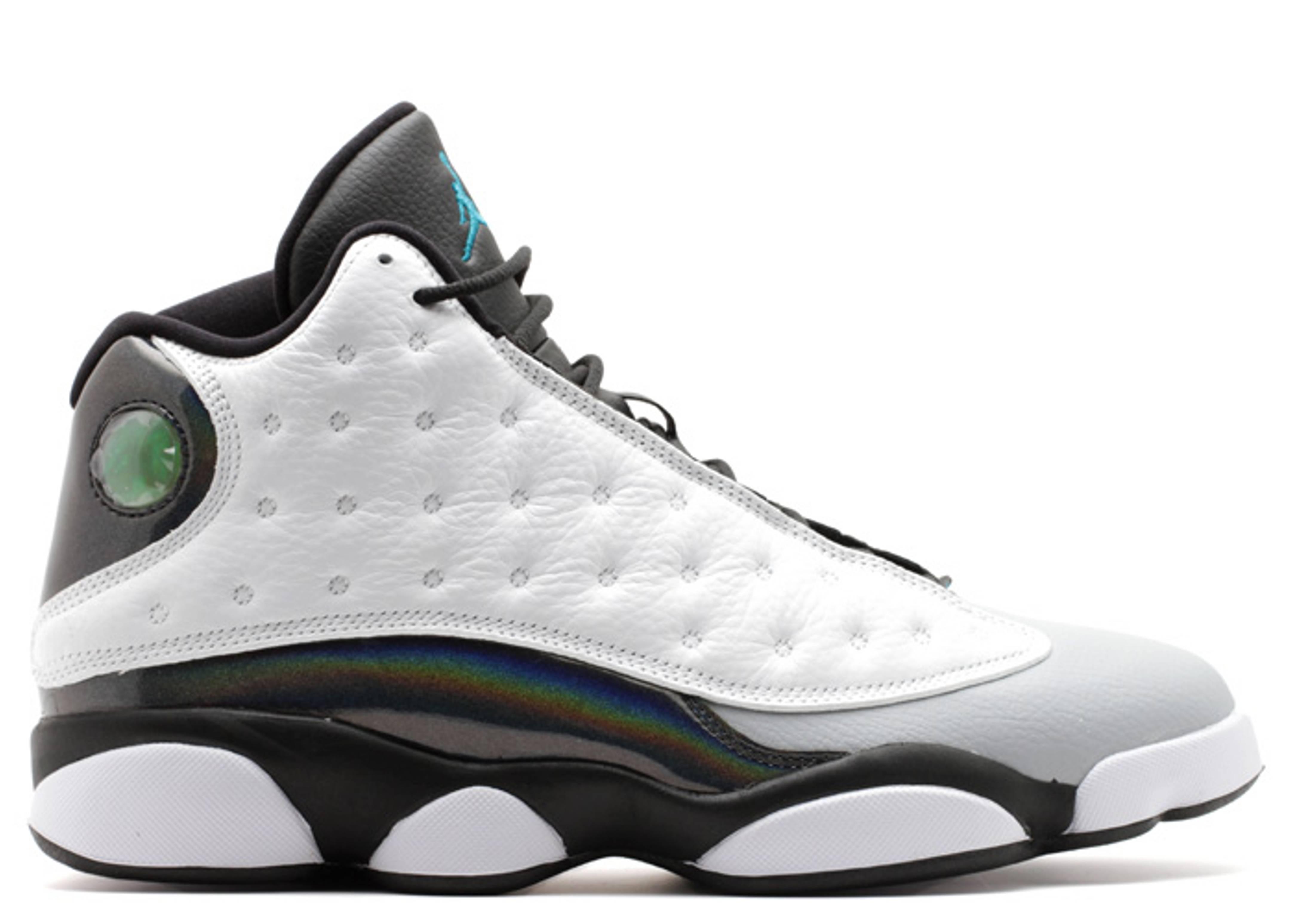 separation shoes 8a723 0e95f air jordan 13 white black