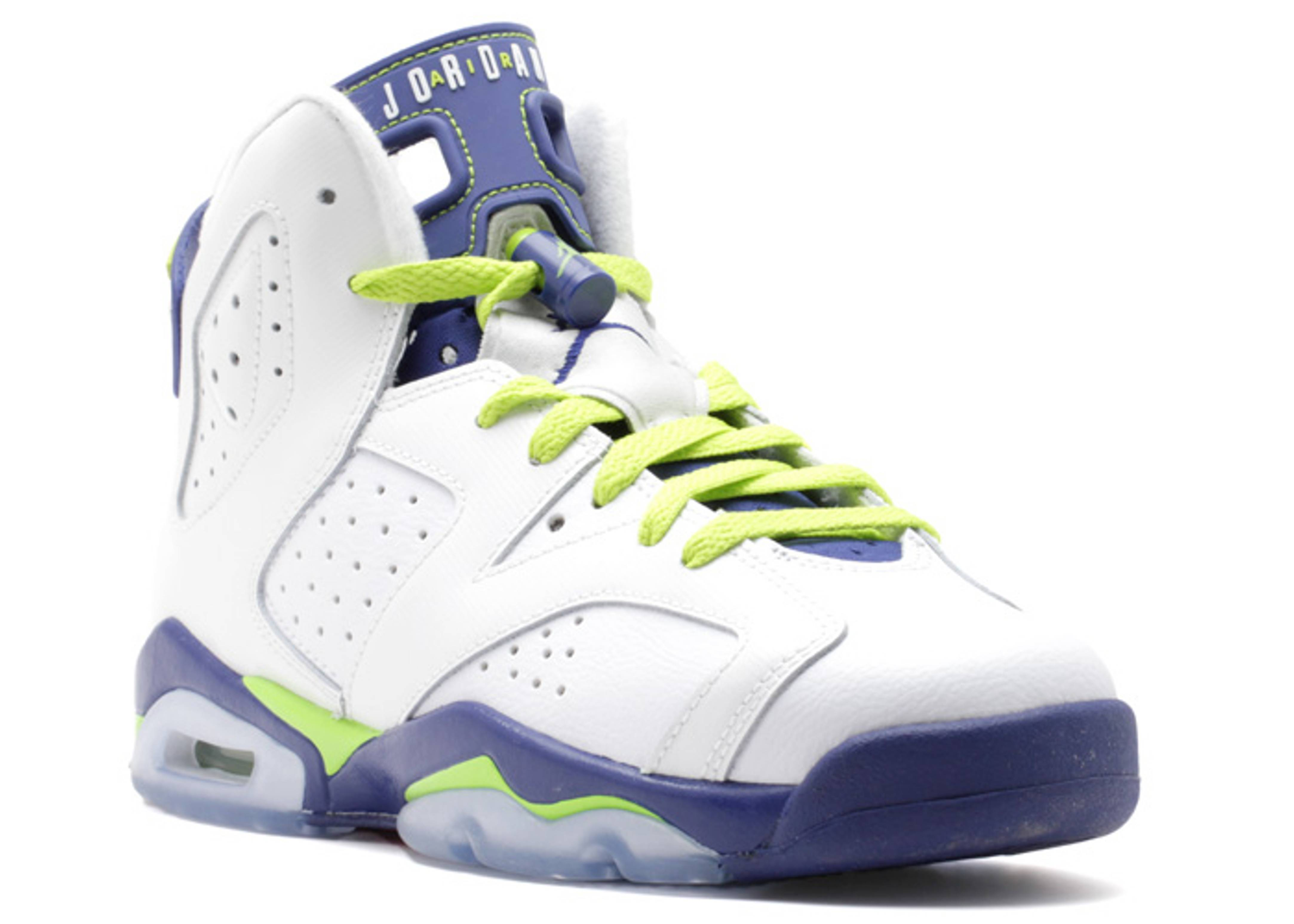 air jordan 6 retro gg (gs) \u0026quot;fierce green\u0026quot;