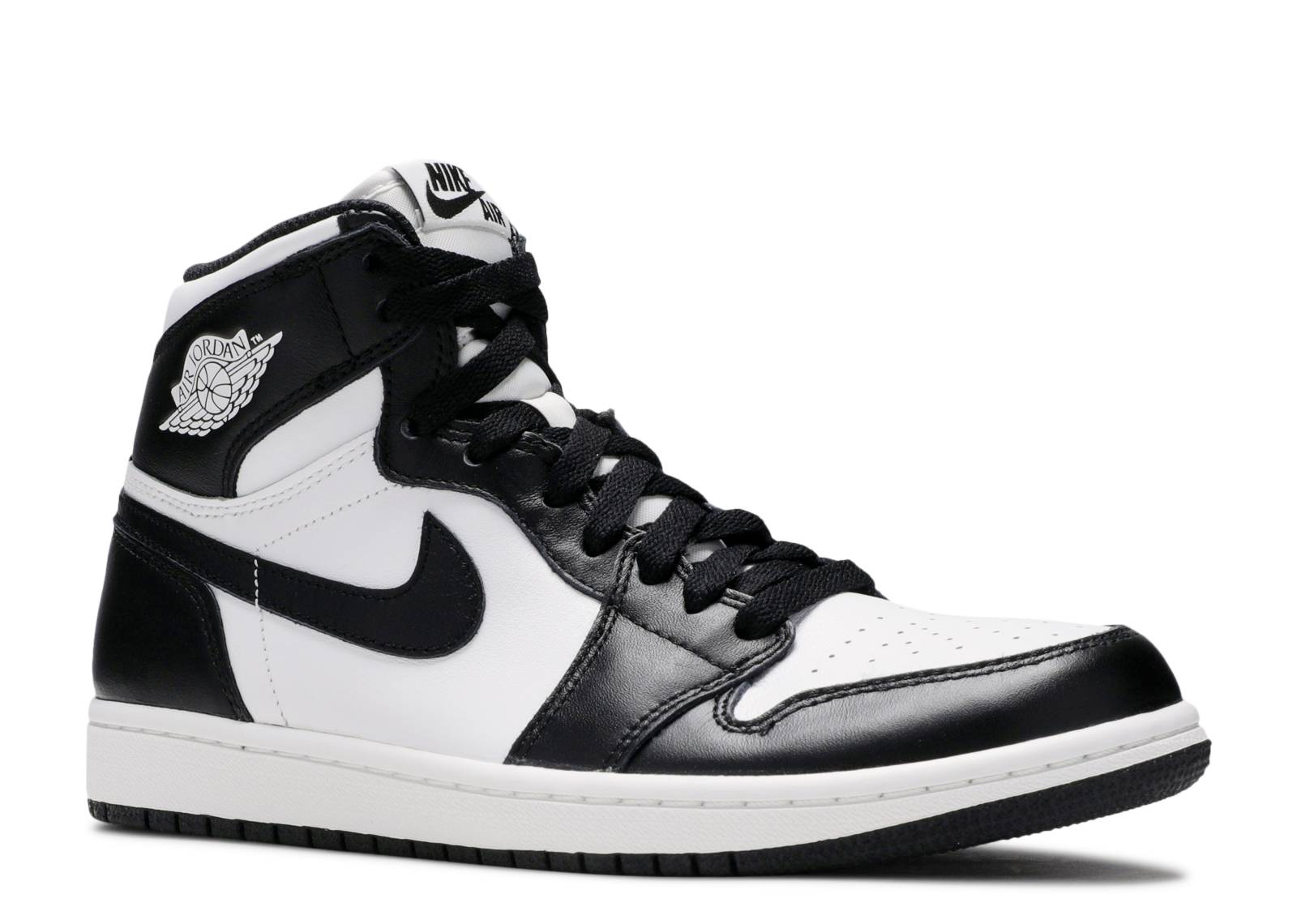 Air Jordan 1 Retro High Og - Air Jordan - 555088 010 - black white-black  9c042806a