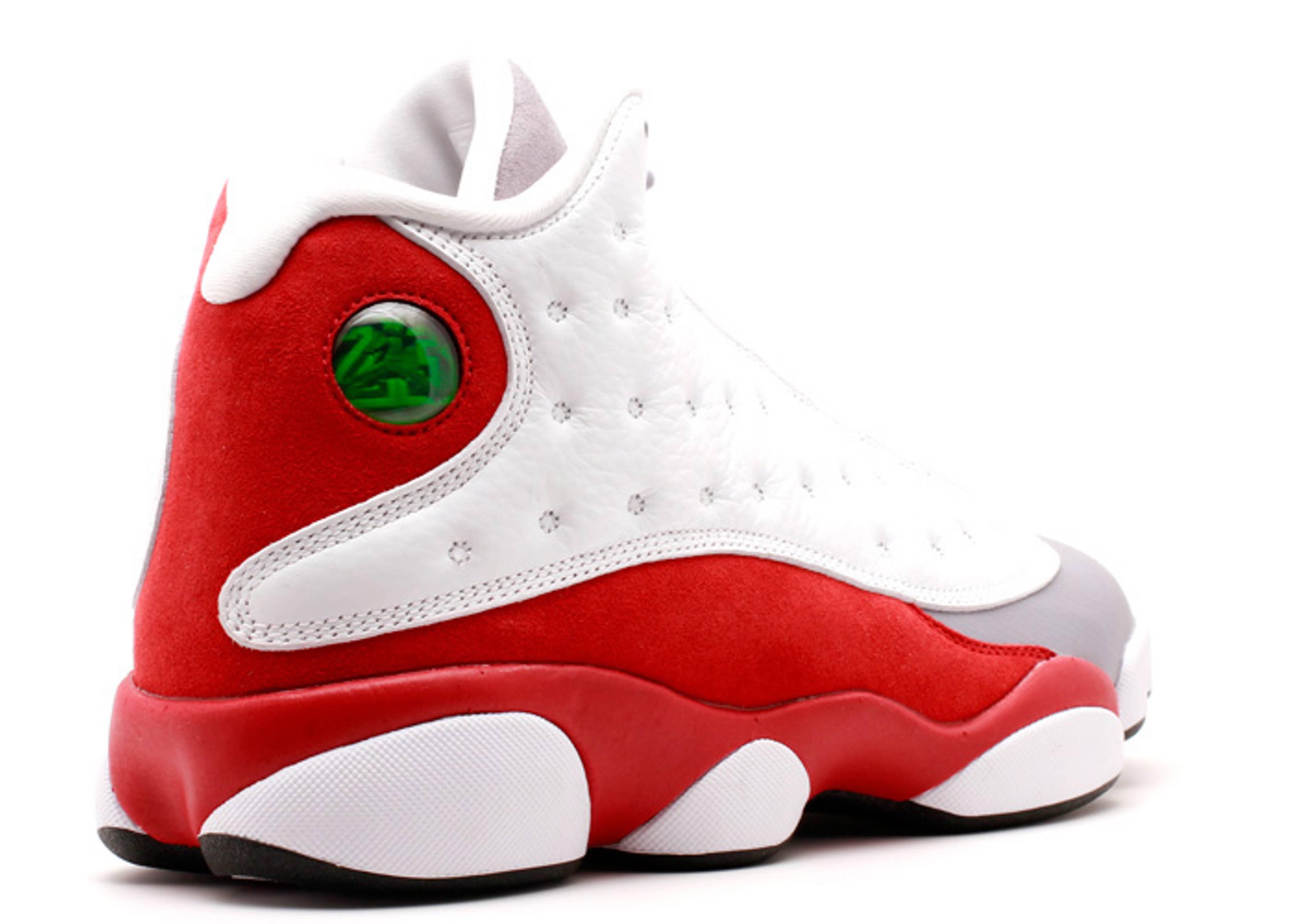 Air Jordan 13 Grey Red