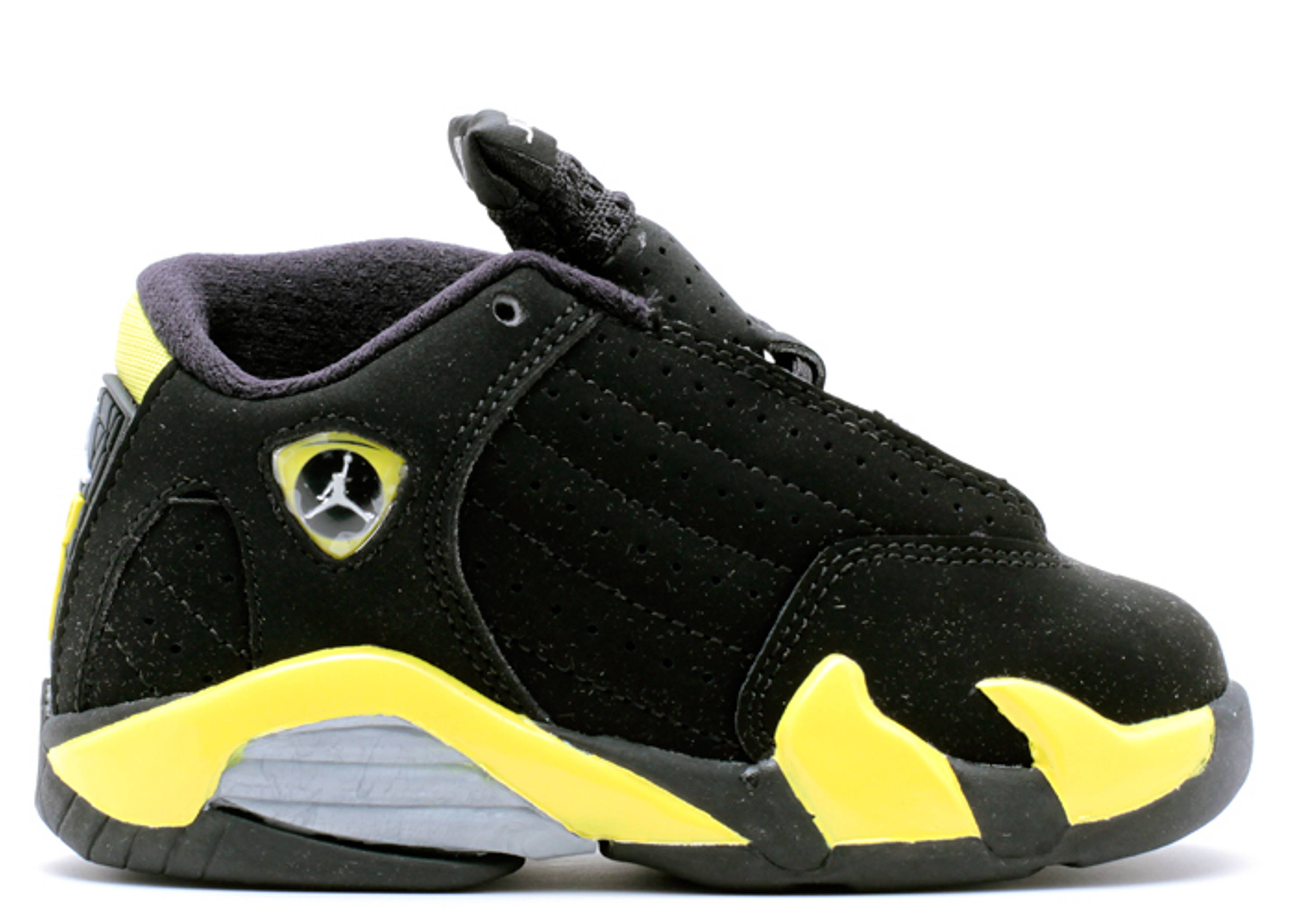 "jordan 14 retro bt ""thunder"""