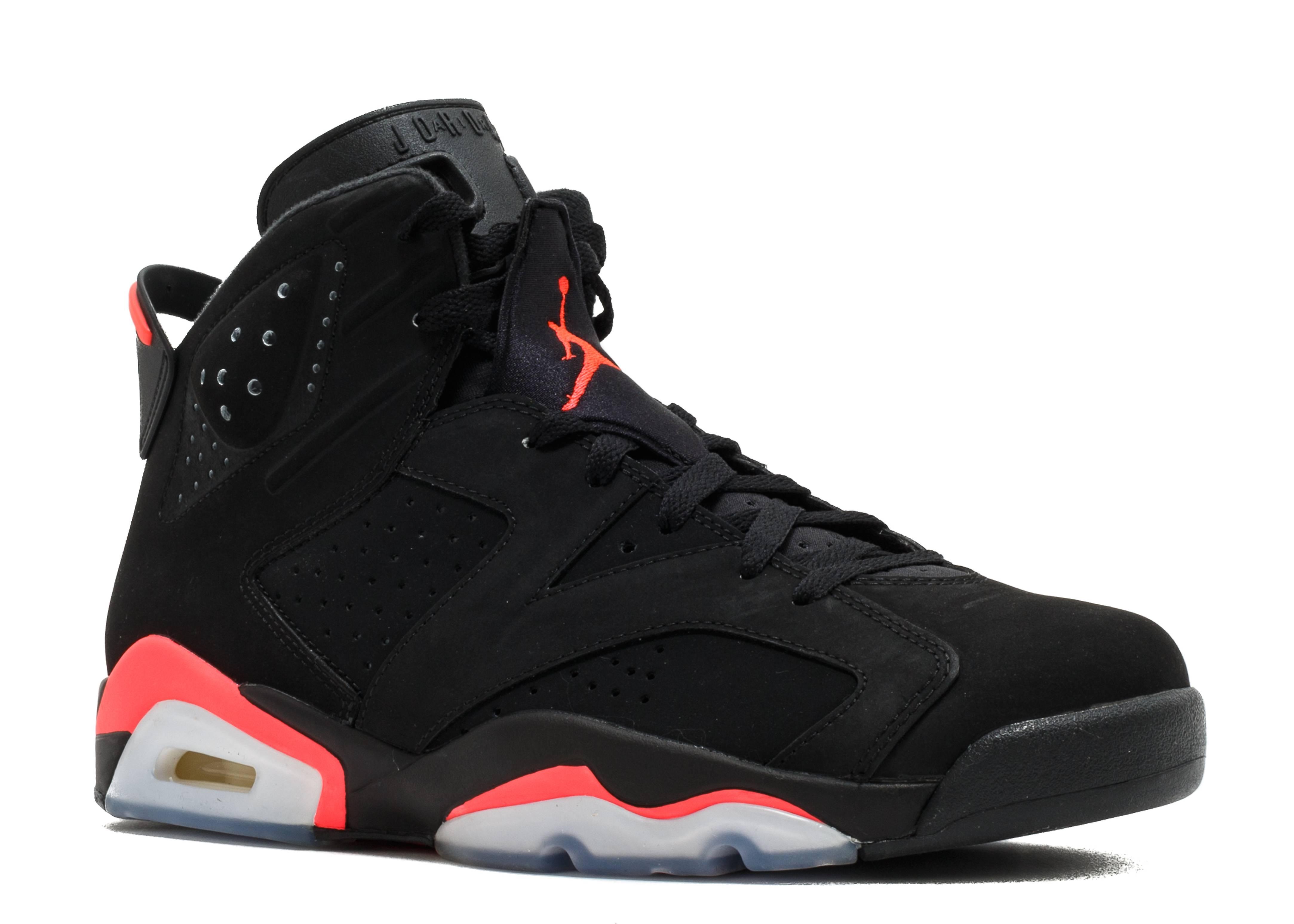 Nike Air Jordan 6 Black Infrared