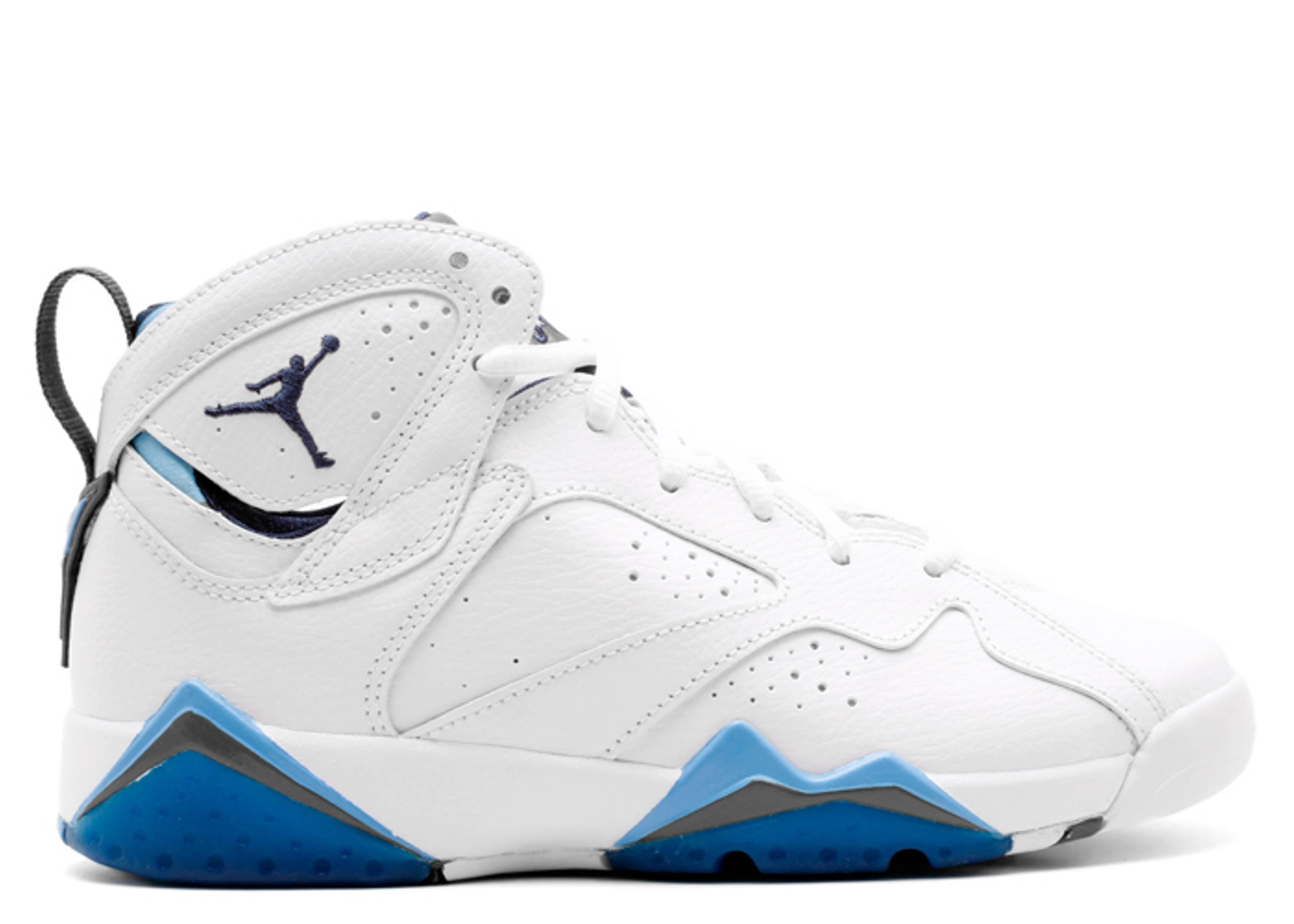 "air jordan 7 bg (gs) ""french blue"""
