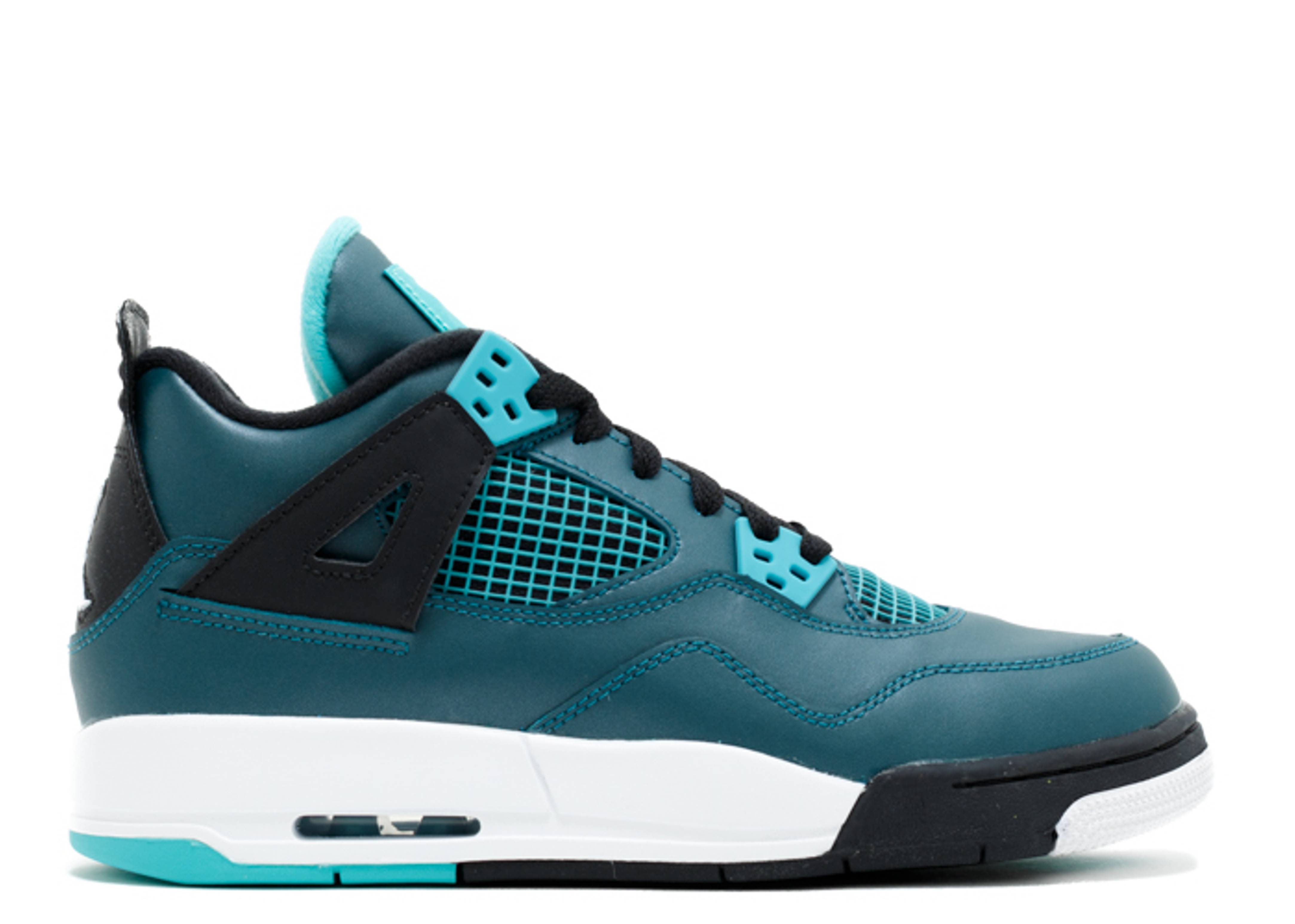 "air jordan 4 retro 30th bg (gs) ""teal"""