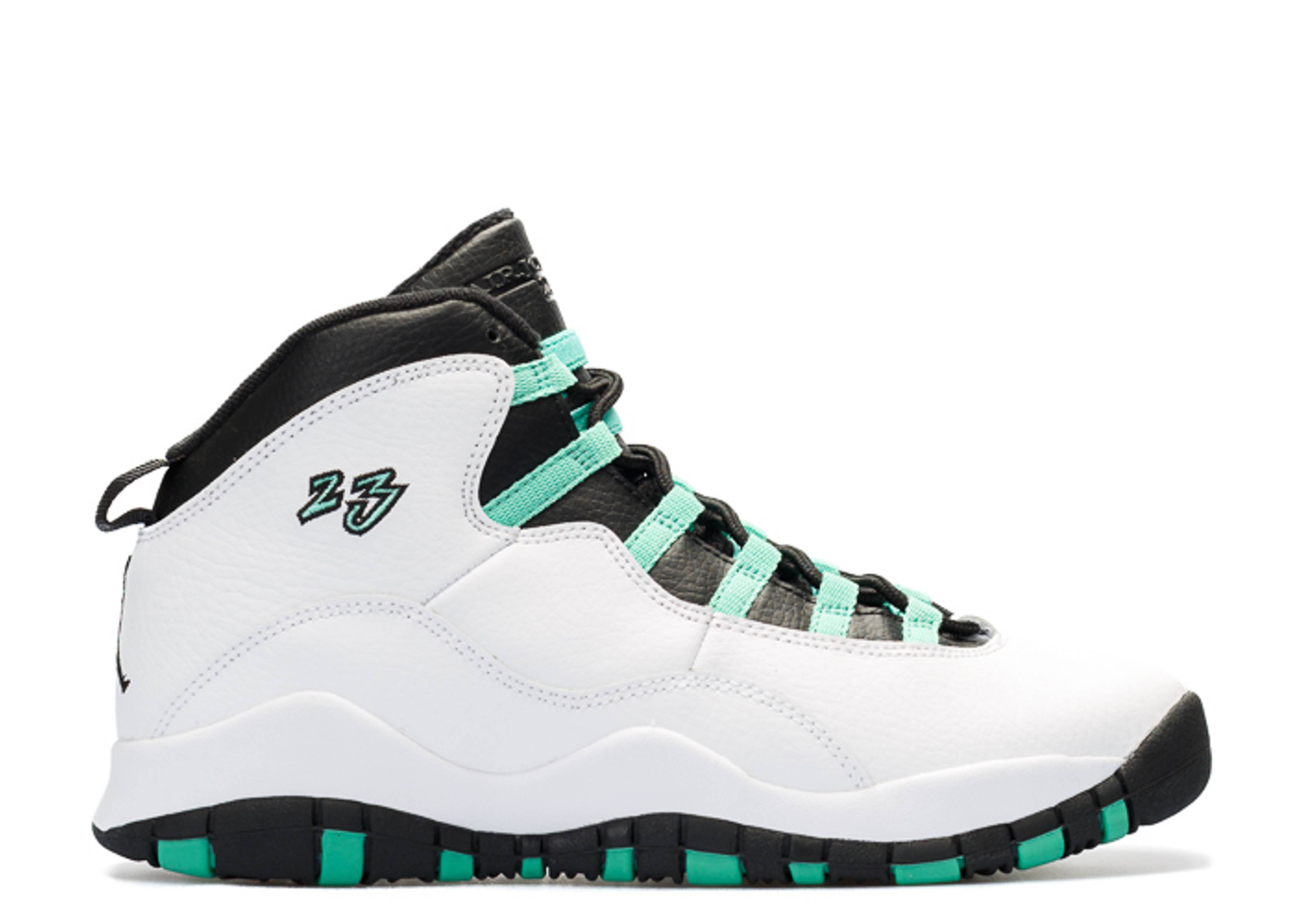 "air jordan 10 retro 30th gg (gs) ""verde"""
