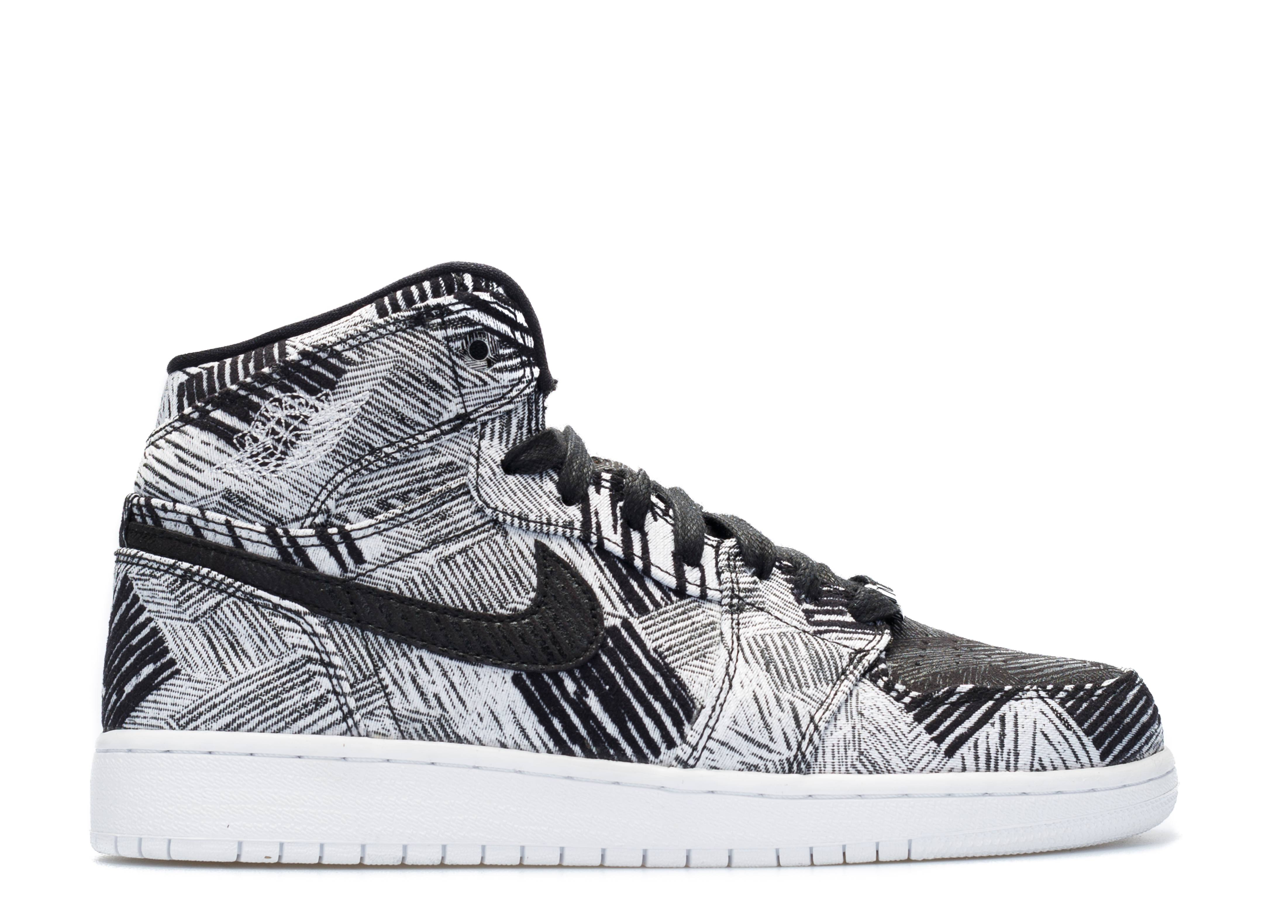 girls air jordan 1 high bhm (gs)