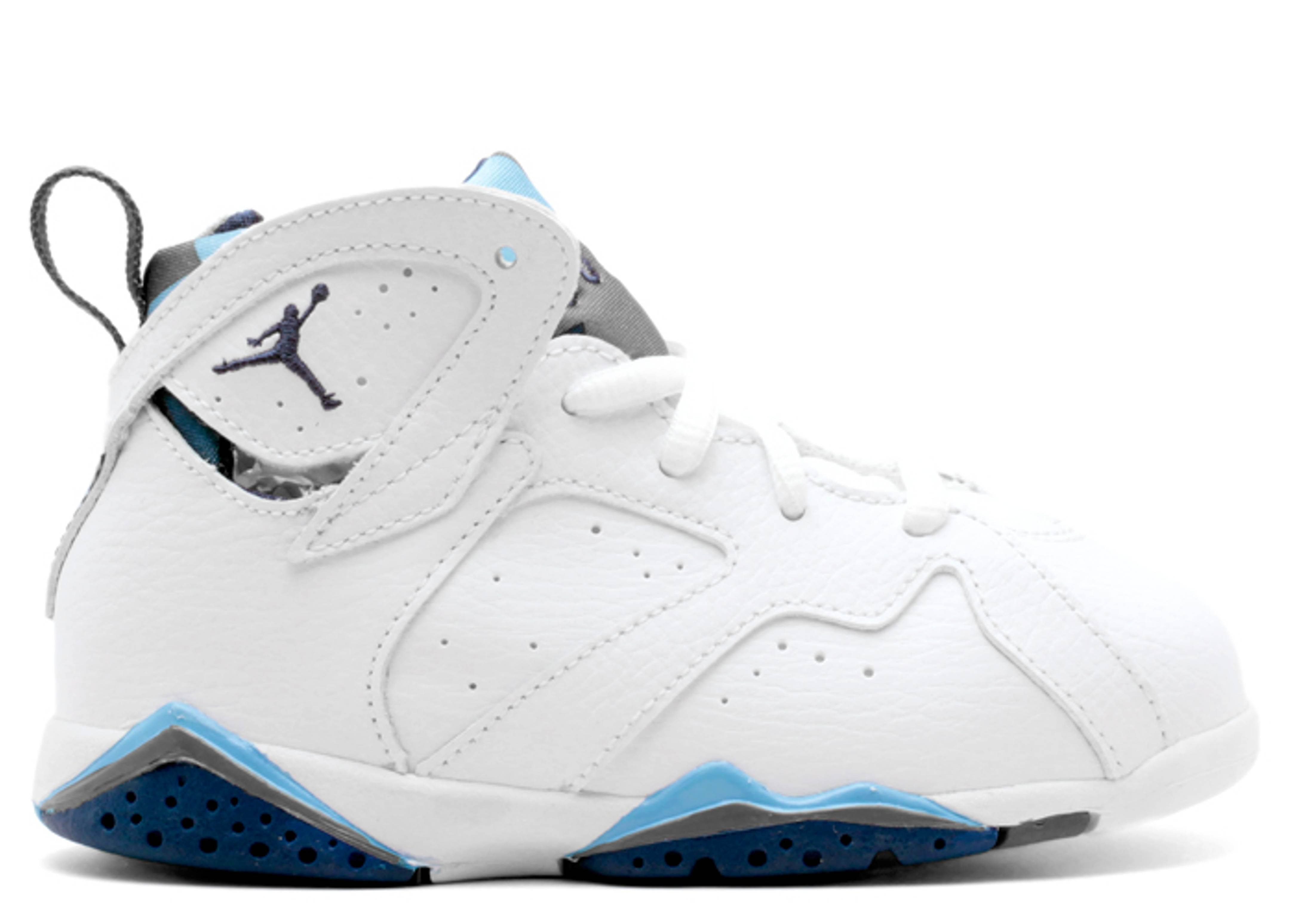 "air jordan 7 retro bt (td) ""french blue"""