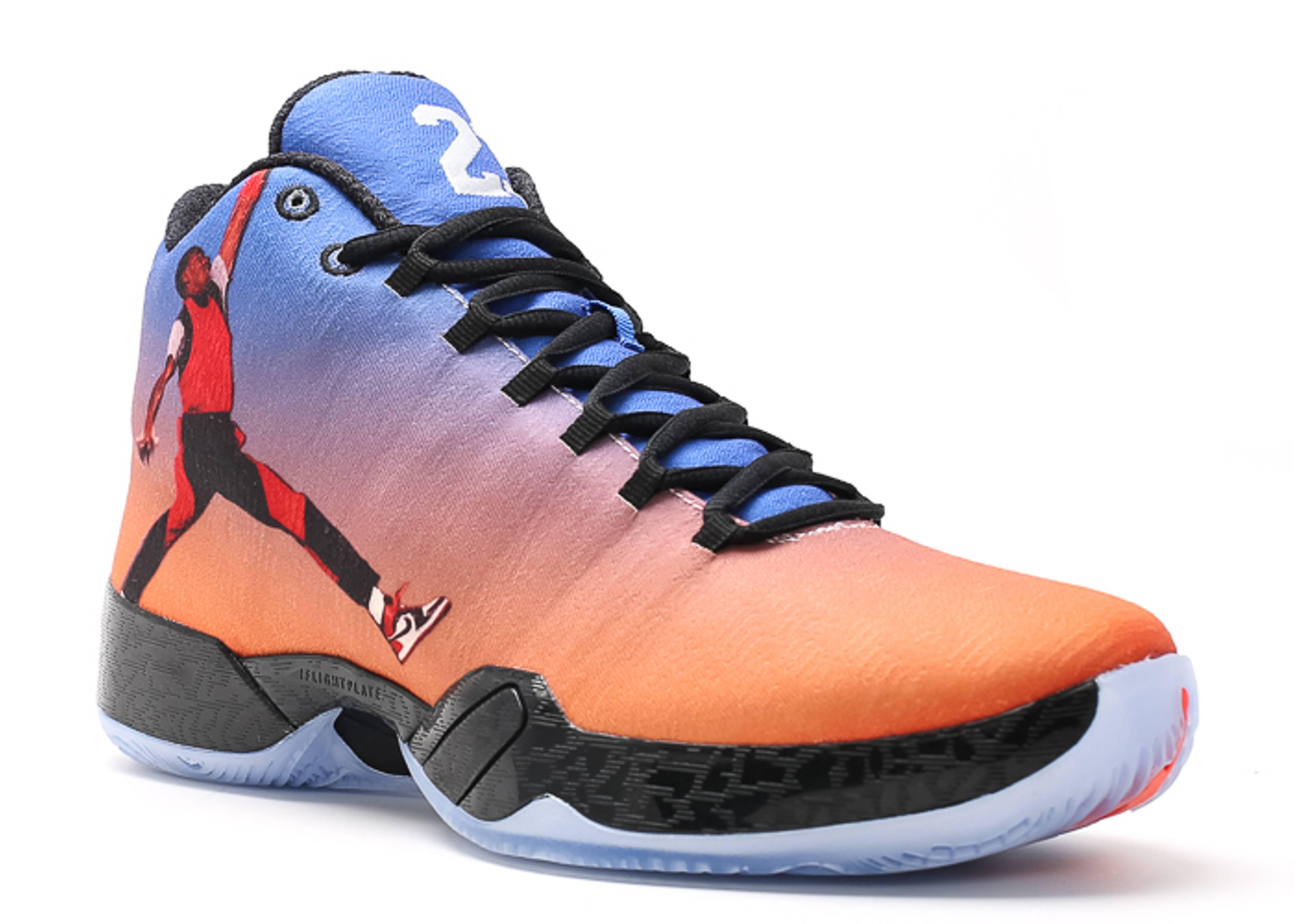 "nike dunk prime high - air jordan 29 ""photo reel"" - team orange/gym rd-gm ryl-blck ..."