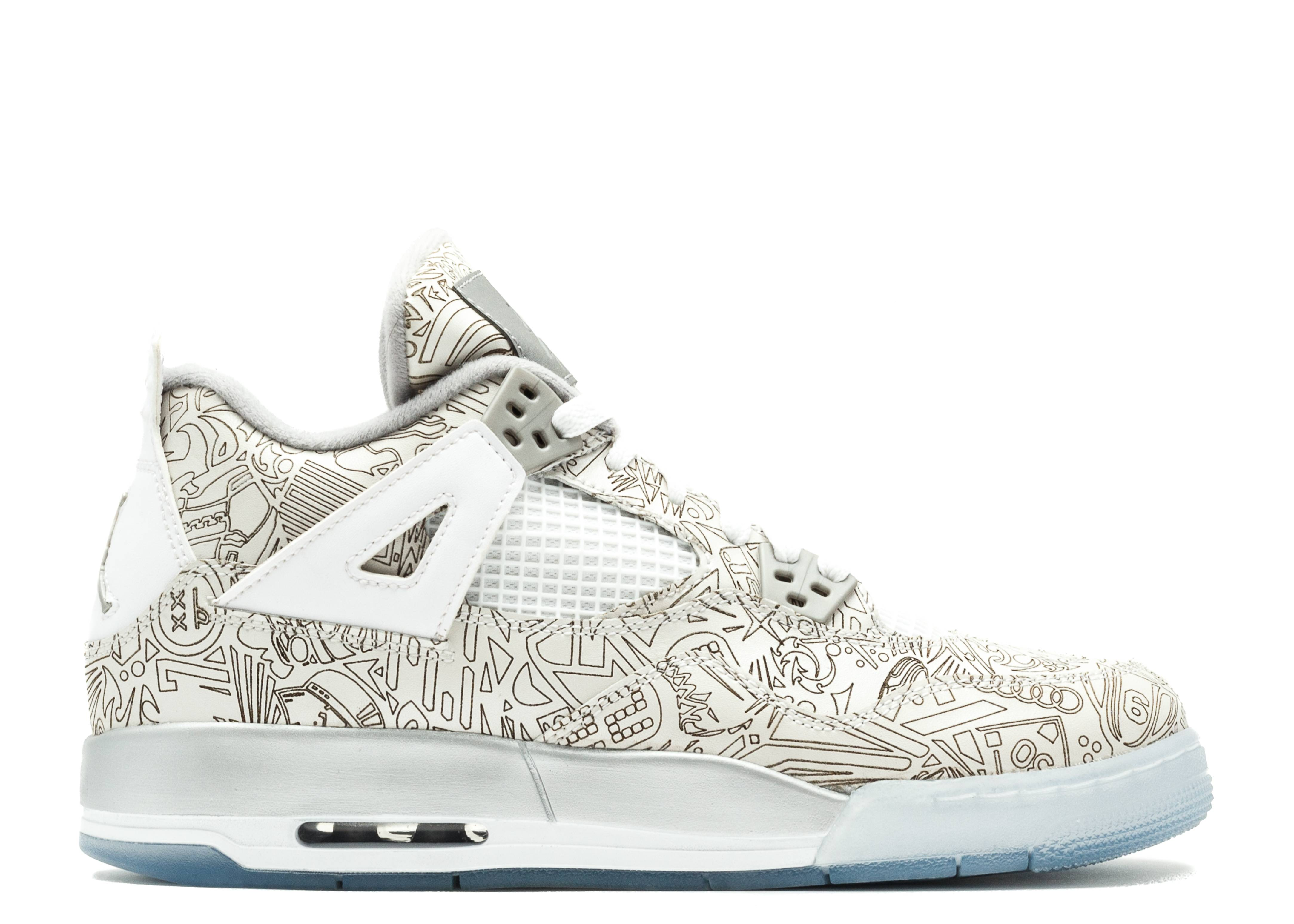 Air Jordan 4 Retro Laser Bg (gs)
